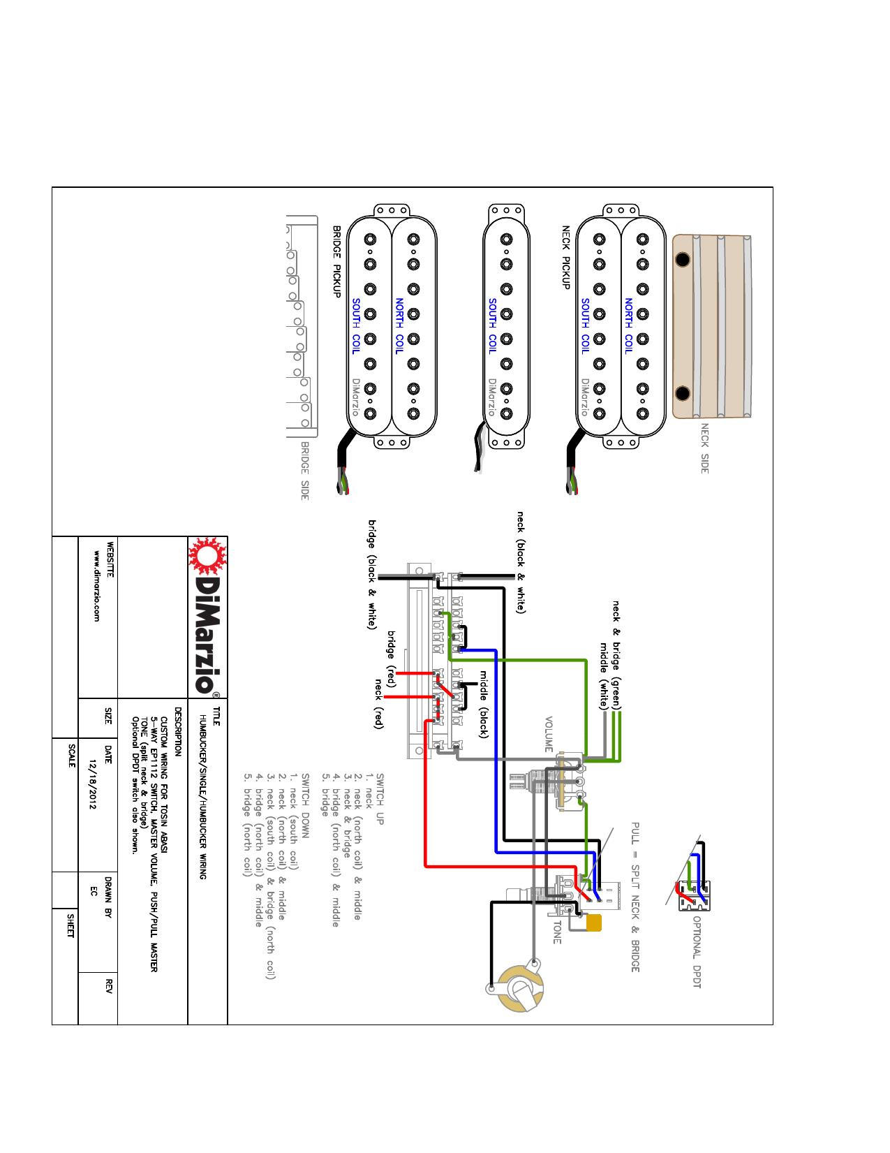 dimarzio dual sound wiring diagram ionizer 8    bridge installation manualzz  ionizer 8    bridge installation manualzz