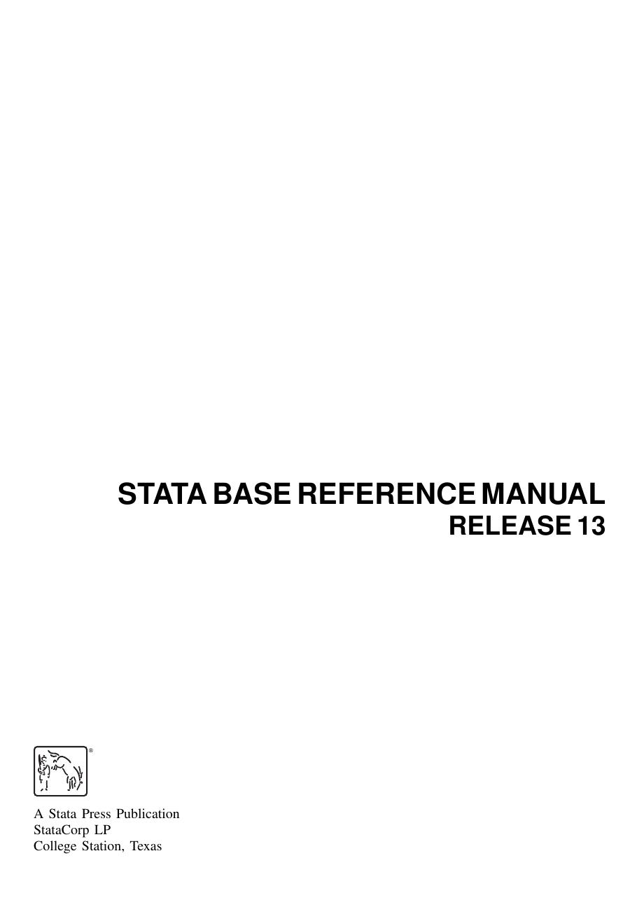 R - Stata | manualzz com