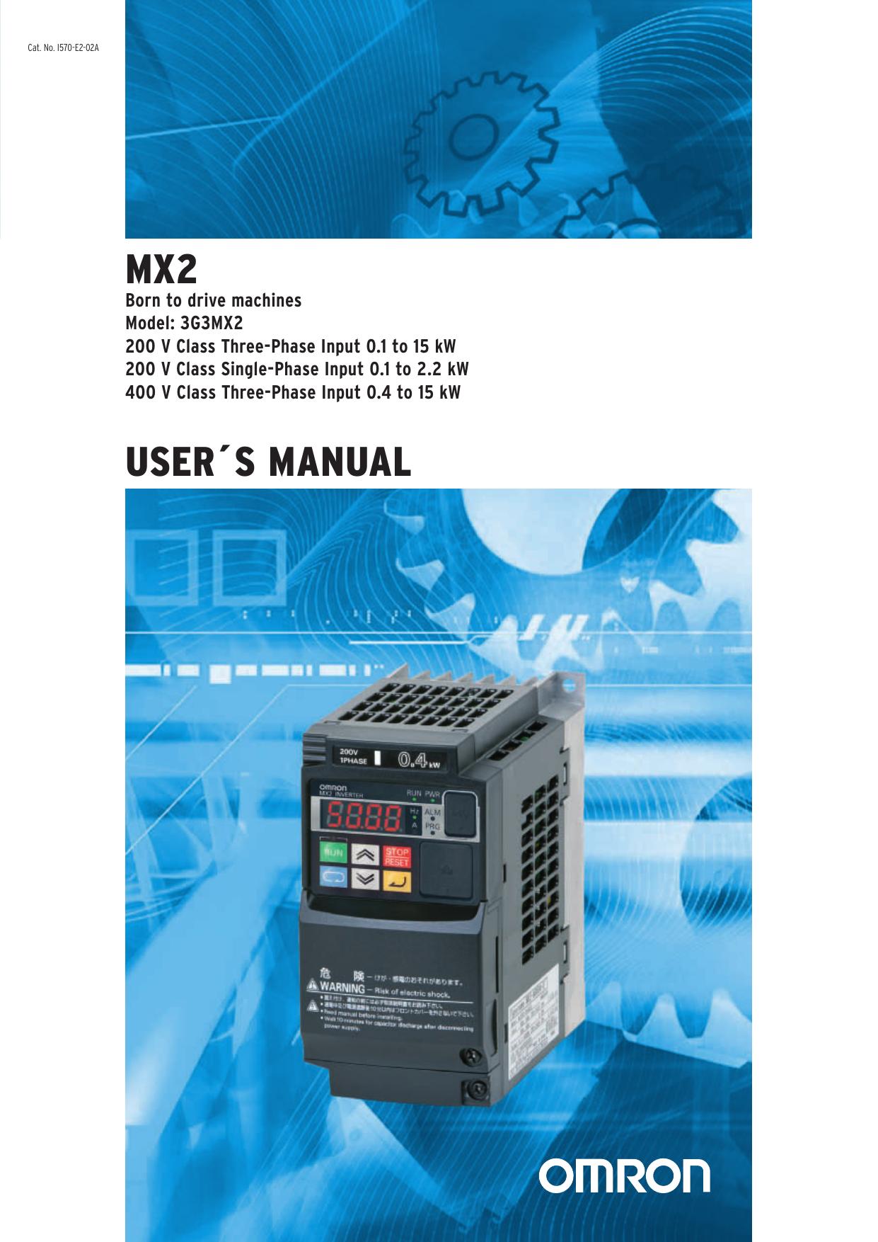 Omron inverter 3G3MX2-AB007-E programming cable+RASMI RFI filter ax-fim1014-re