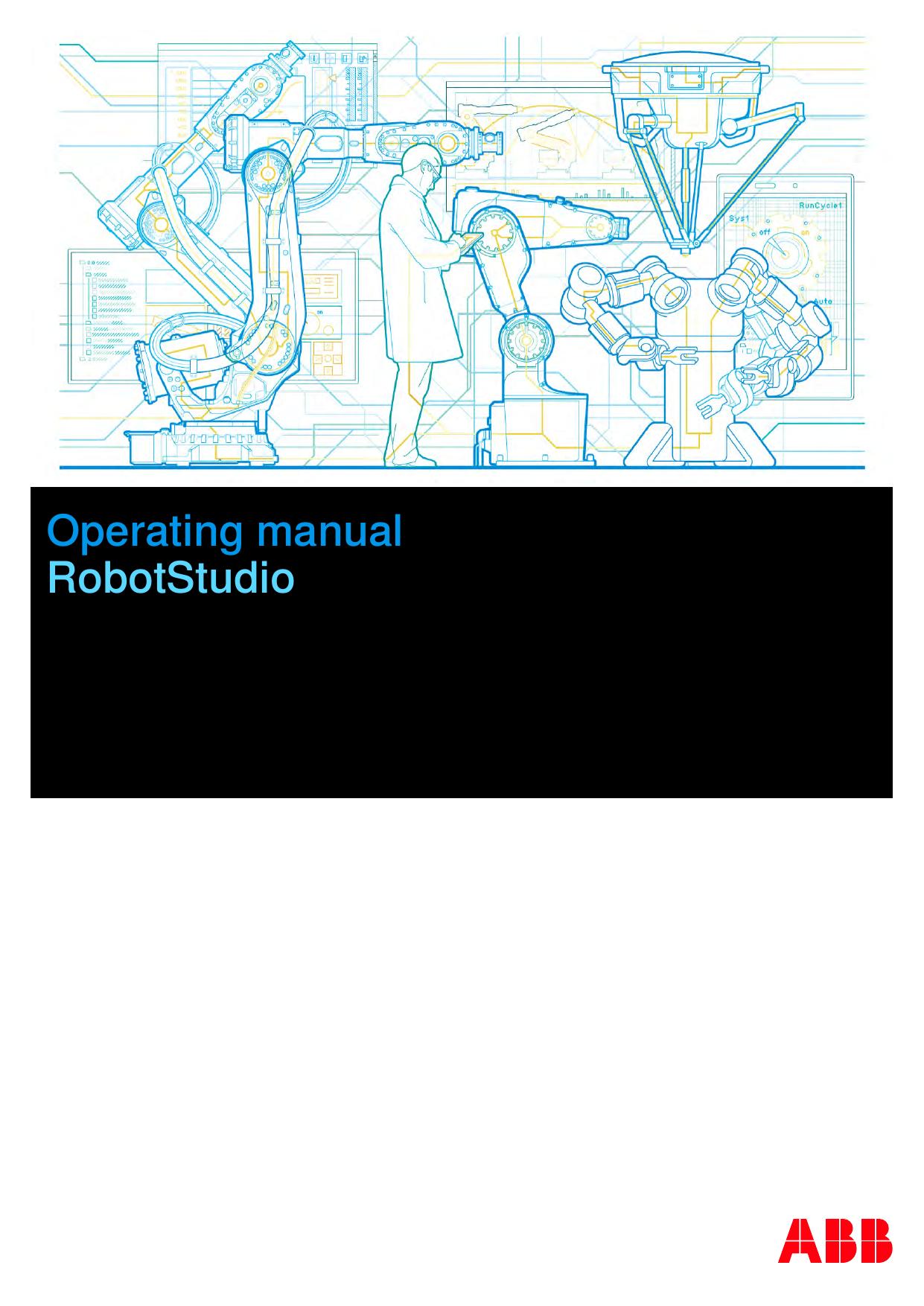 Operating manual - RobotStudio | manualzz com