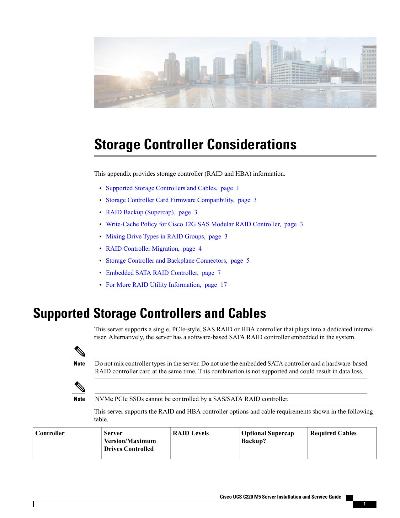 Storage Controller Considerations | manualzz com
