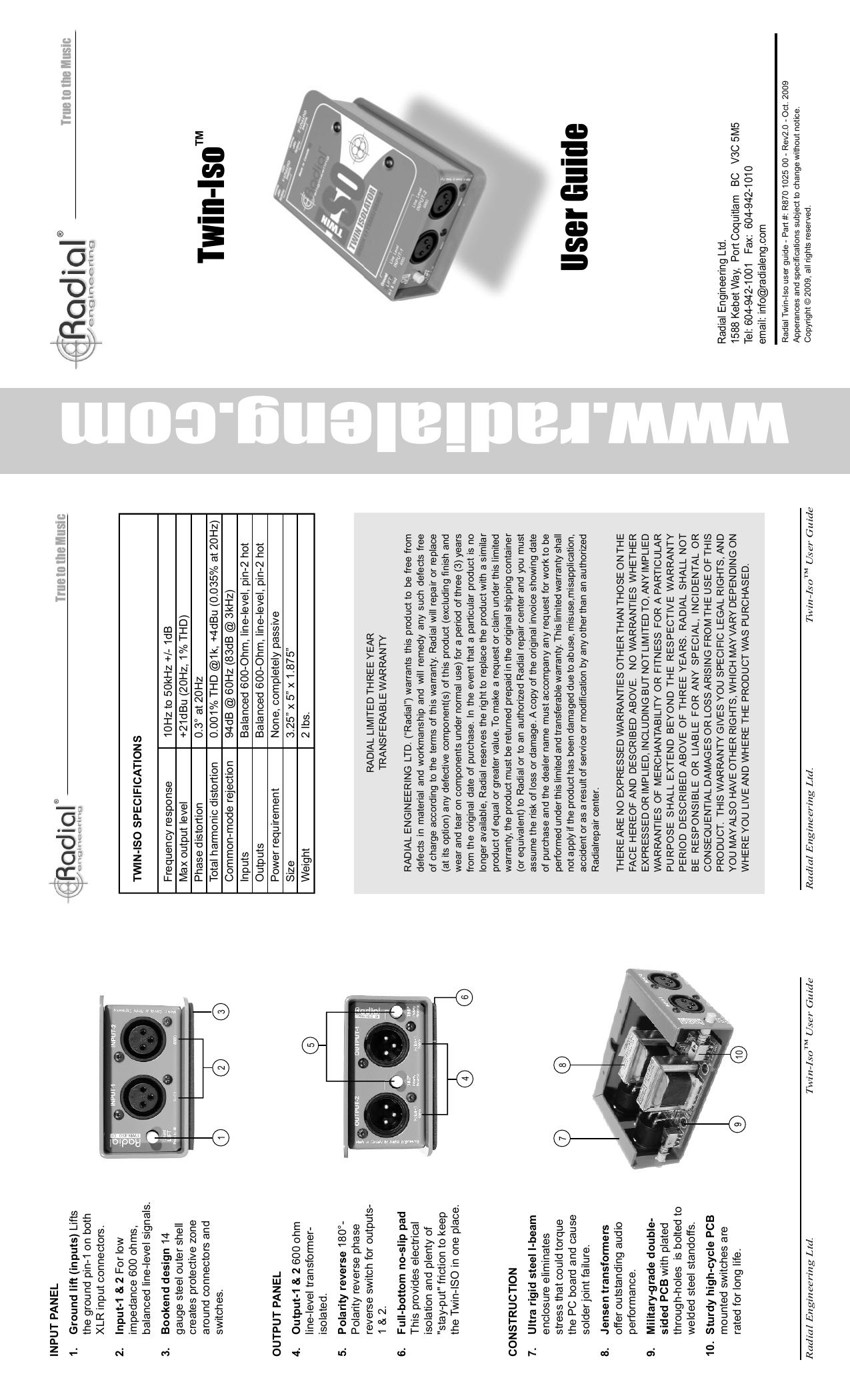 www.radialeng.com - Radial Engineering | manualzz.com