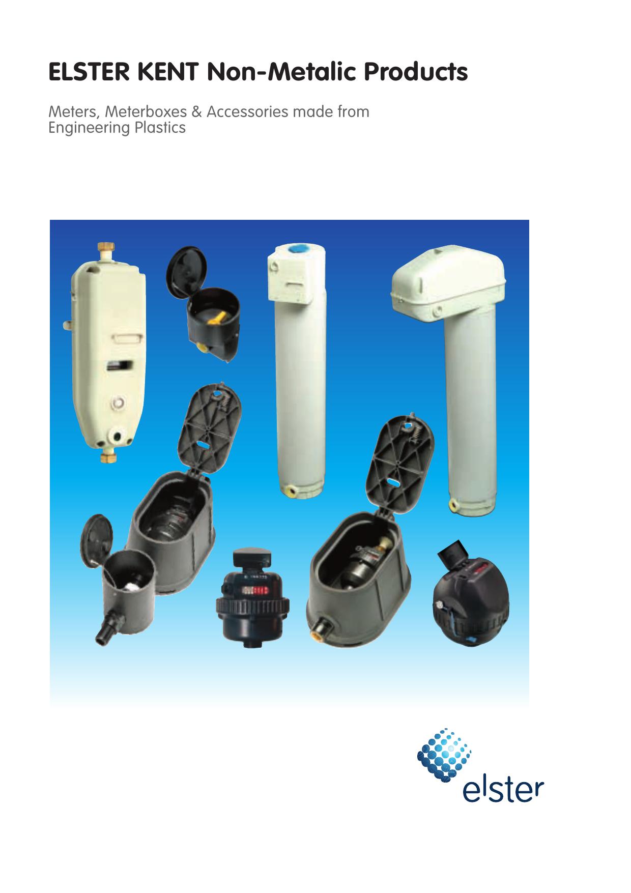 Elster Kent Non Metalic Meters Brochure Manualzz