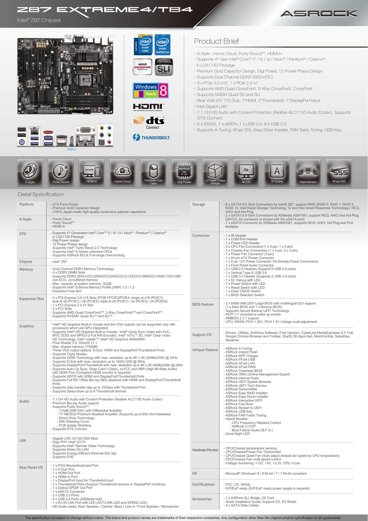 Z87 Extreme4_TB4-en | manualzz com