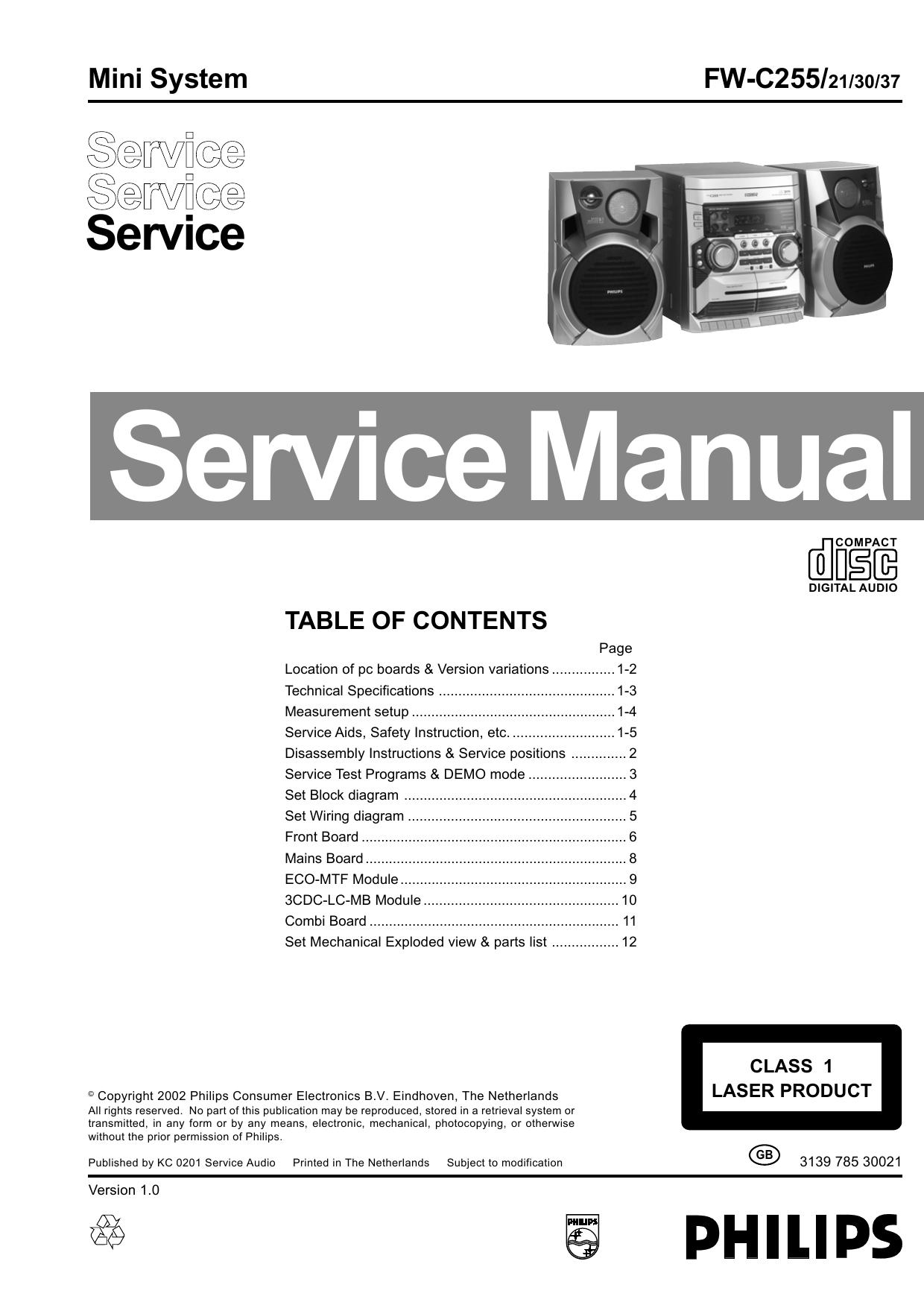 Service Manual Fw