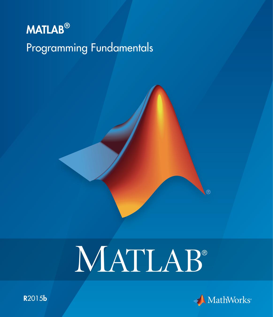 MATLAB Programming Fundamentals | manualzz com