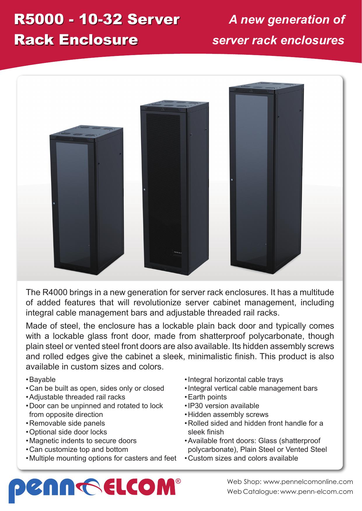 R8   8 8 Server Rack Enclosure   Manualzz