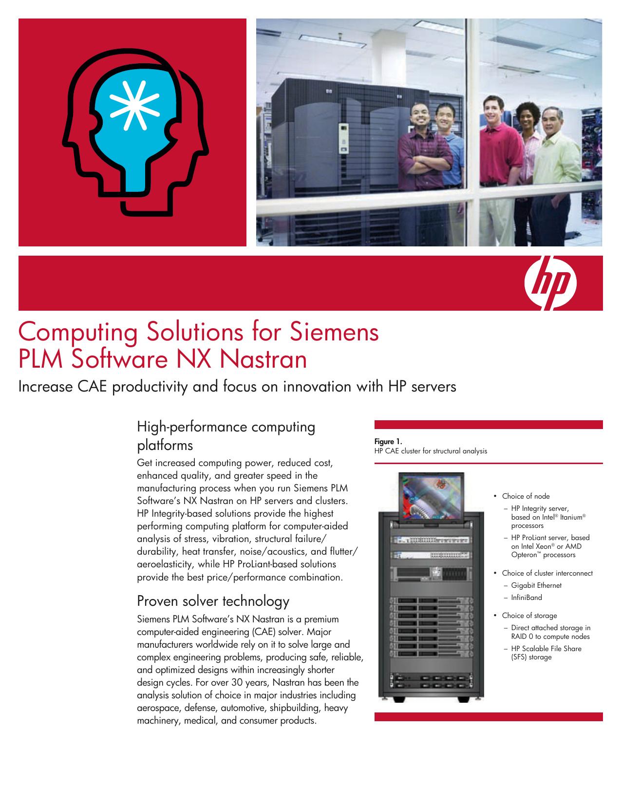 Computing Solutions for Siemens PLM Software NX Nastran
