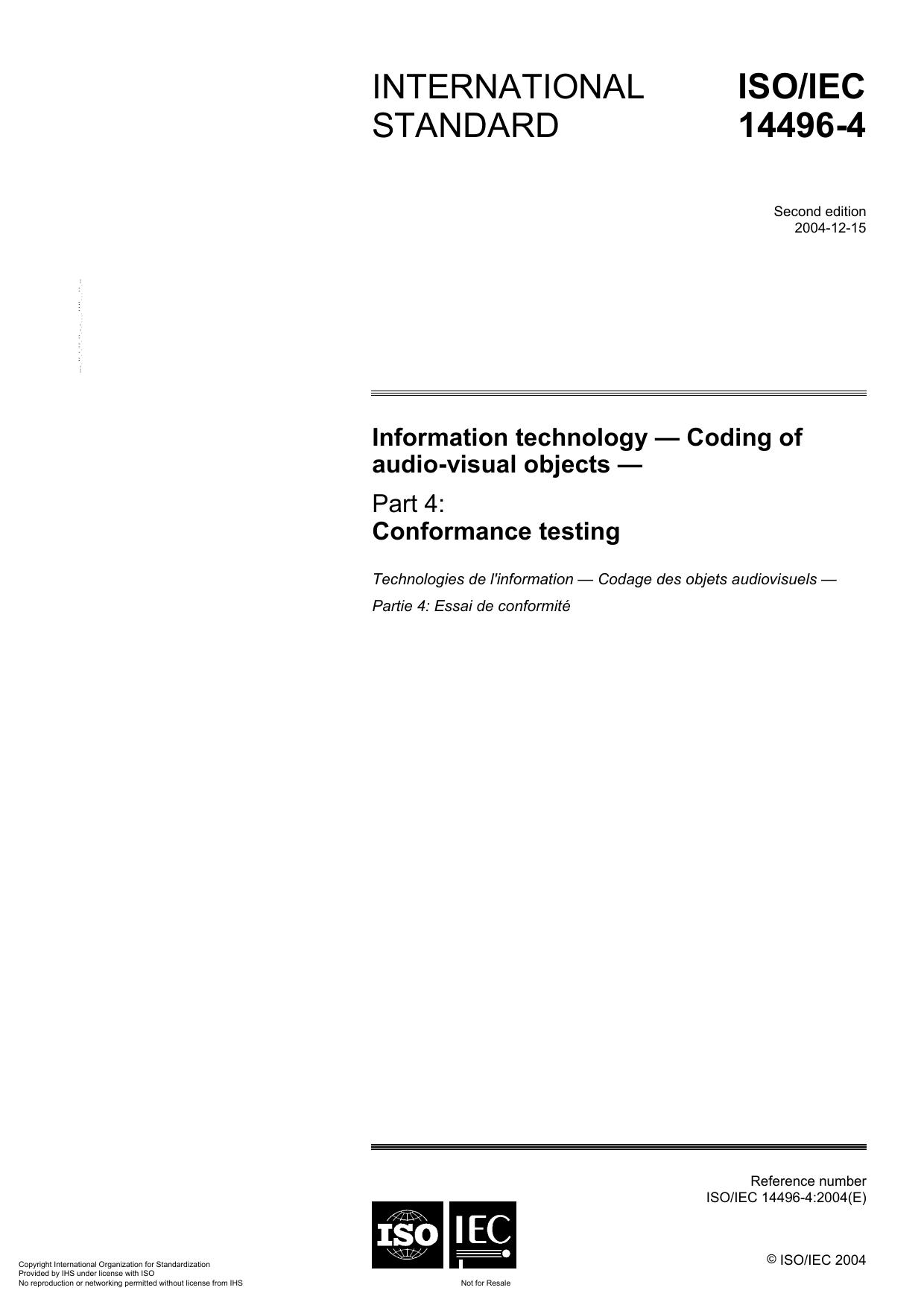 ISO/IEC 14496-4 | manualzz com