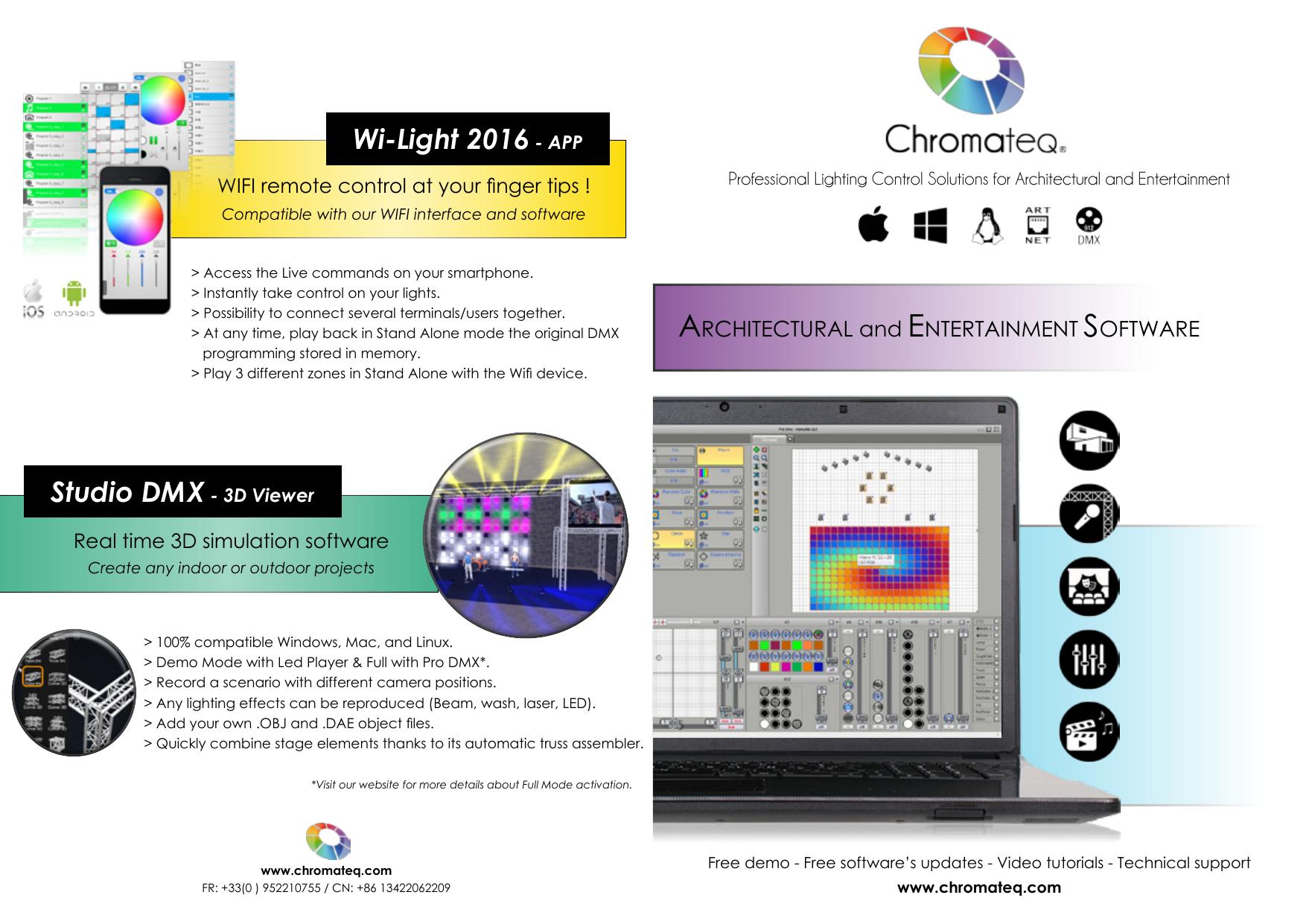 Wi-Light 2016 - APP Studio DMX | manualzz com