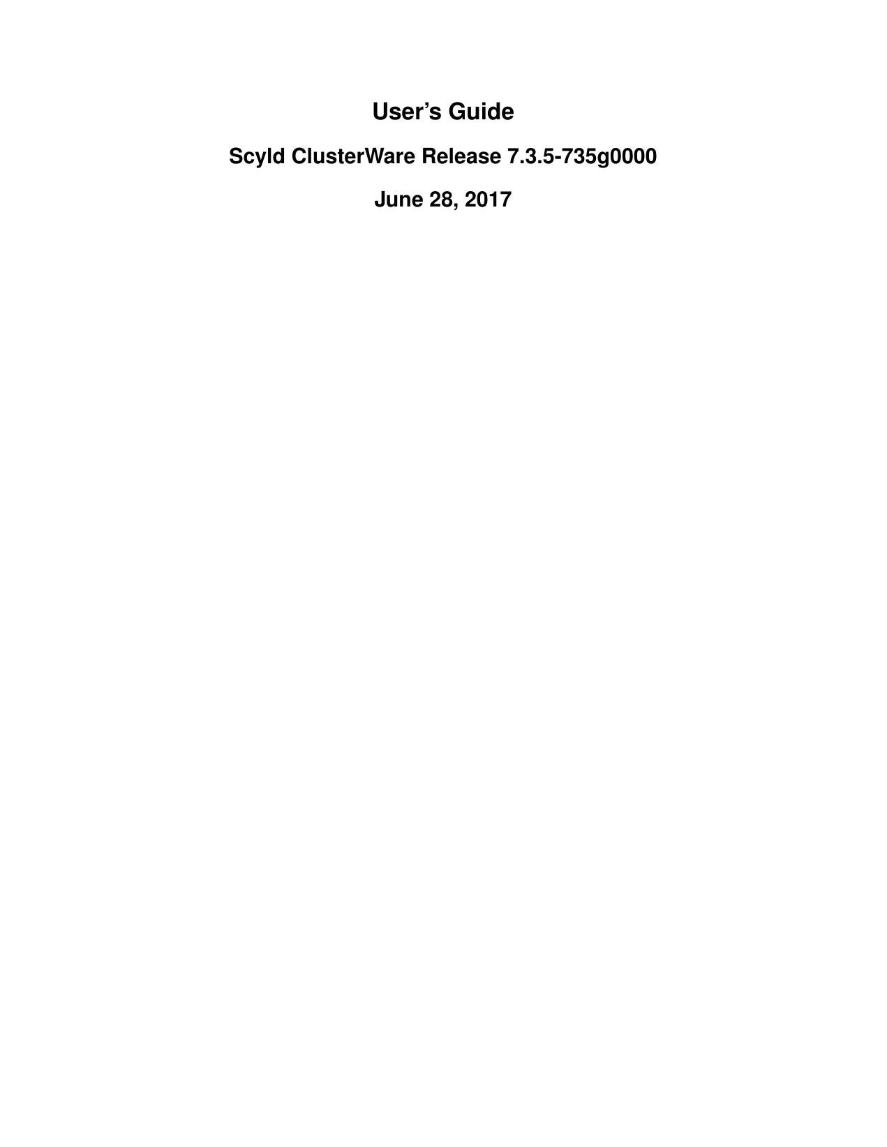 User`s Guide - Penguin Computing   manualzz com