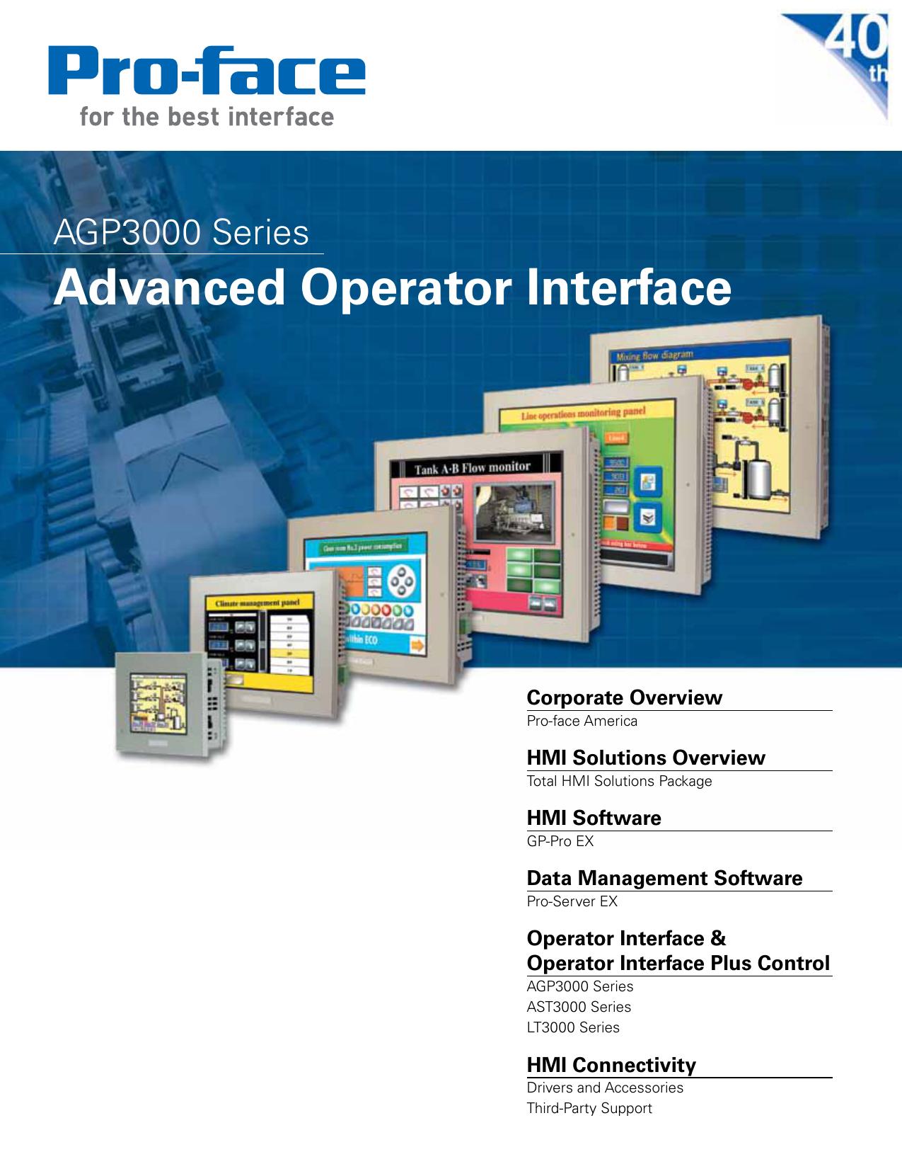 Advanced Operator Interface - Pro | manualzz com