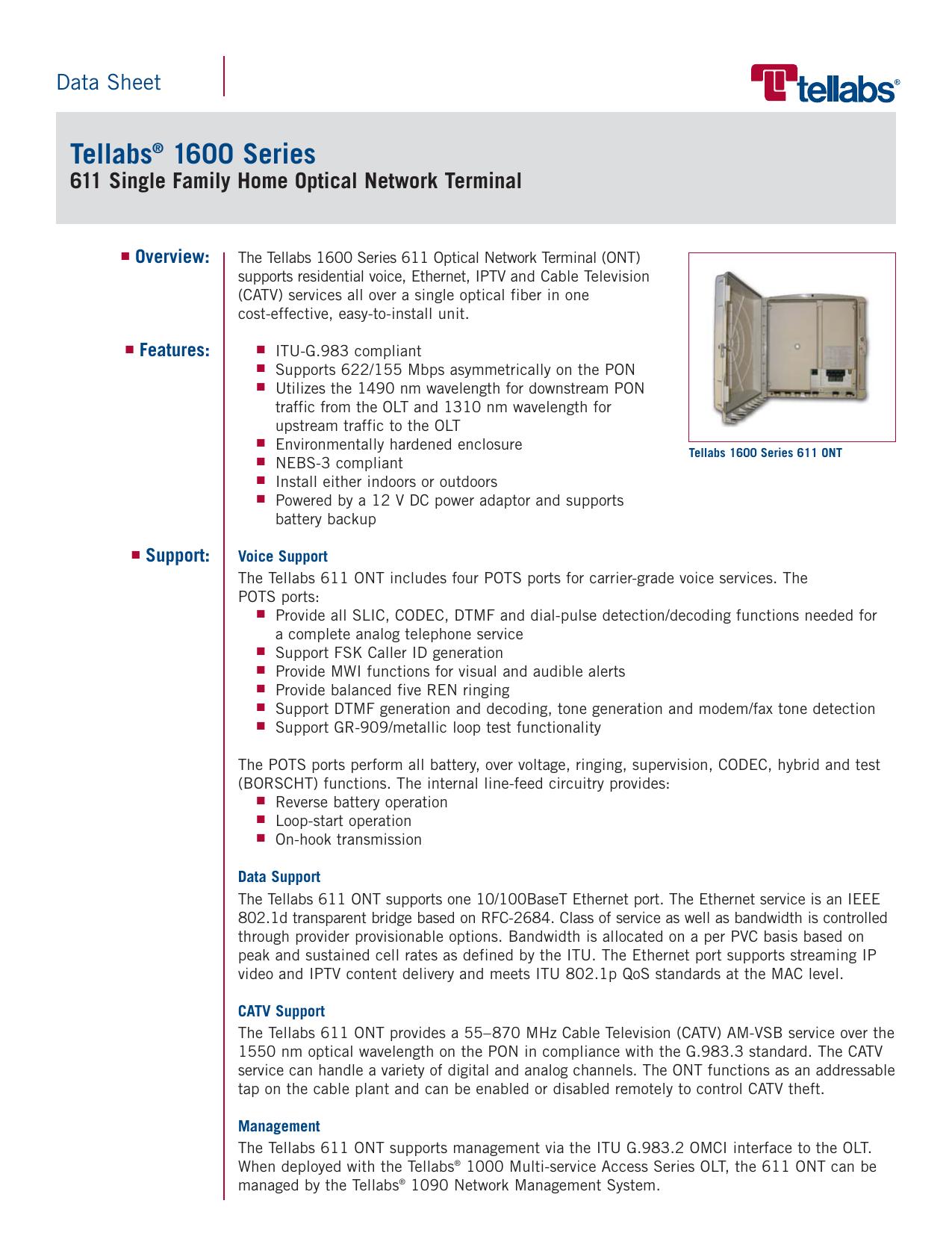 Tellabs 1600 Series   manualzz com
