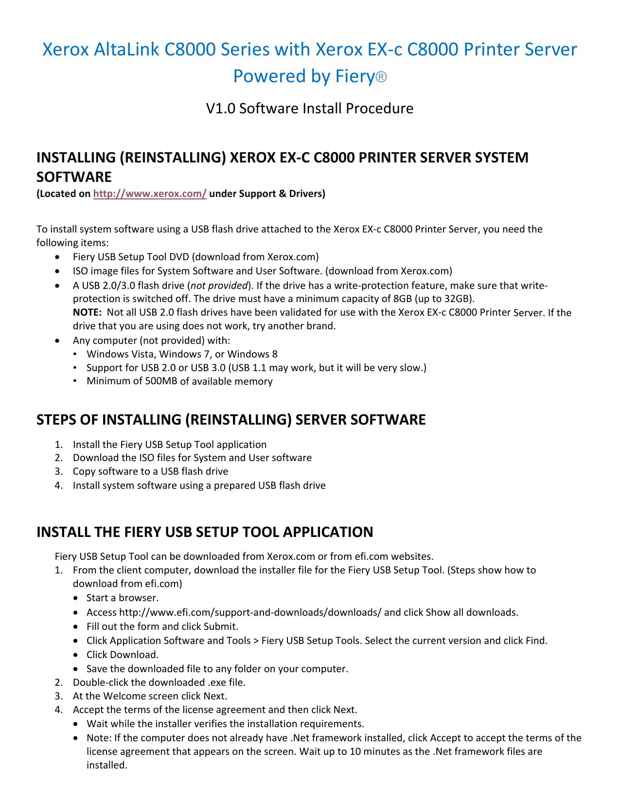 Xerox AltaLink C8000 Series with Xerox EX-c | manualzz com
