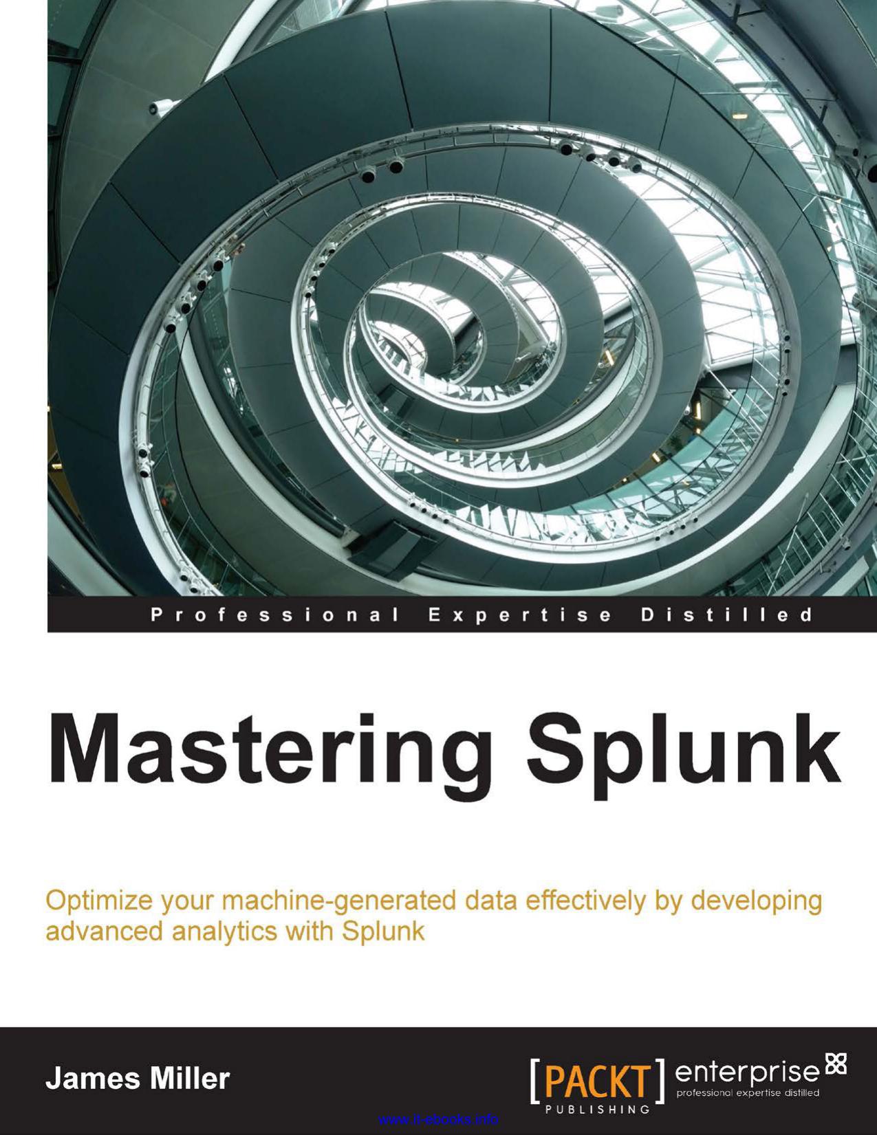 Mastering Splunk | manualzz com