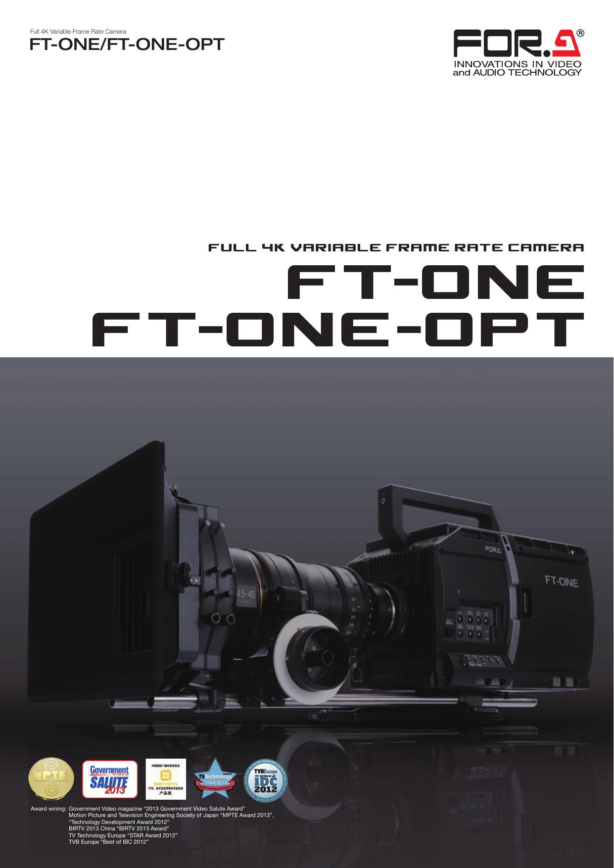 FT-ONE/FT-ONE-OPT Datasheet[PDF:1 9MB]   manualzz com