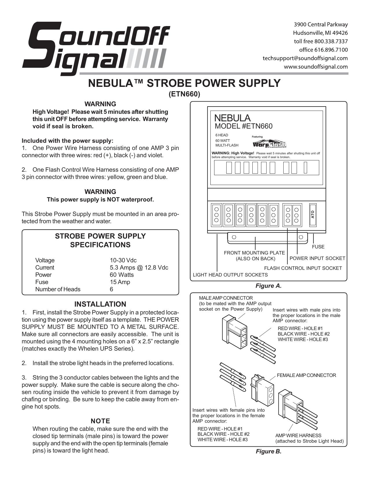 NEBULA™ STROBE POWER SUPPLY | manualzz.com on