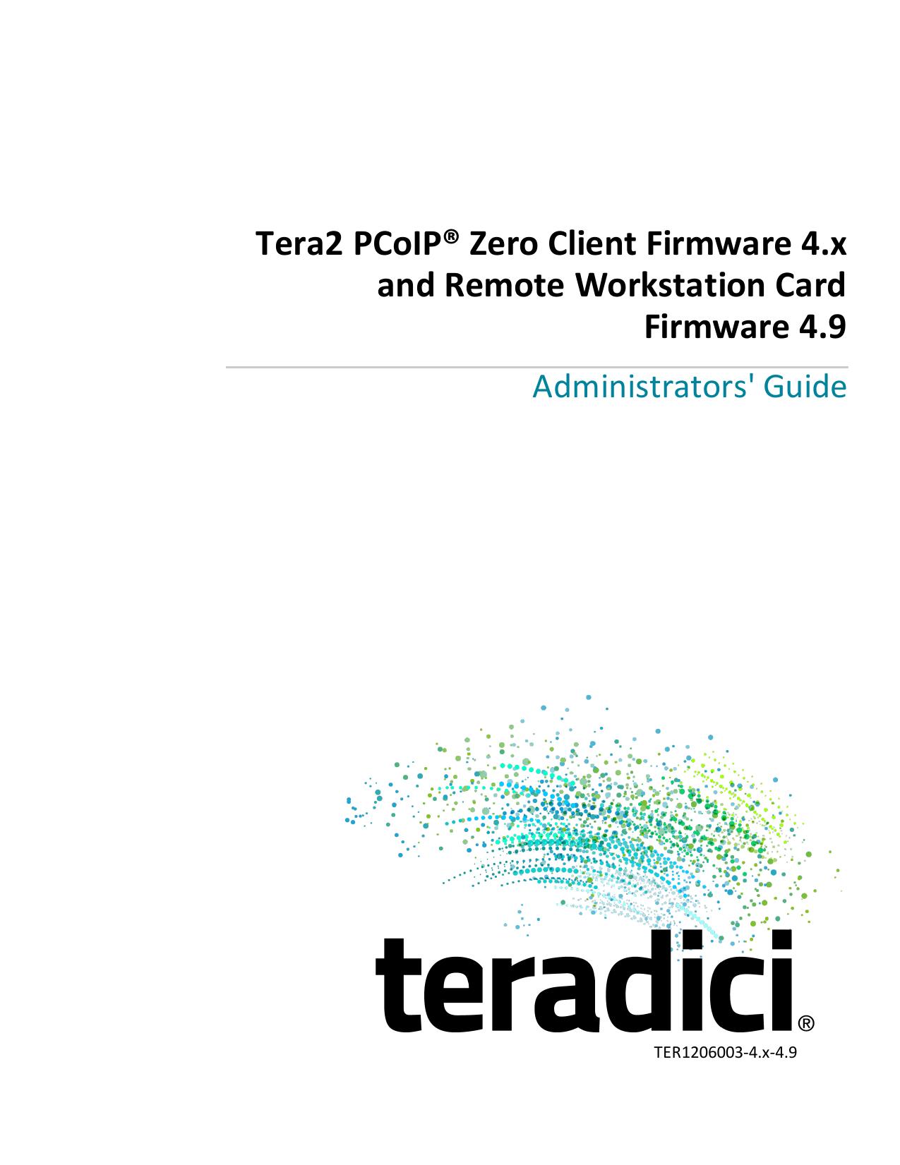 TER1206003 Tera2 PCoIP Zero Client and Remote | manualzz com