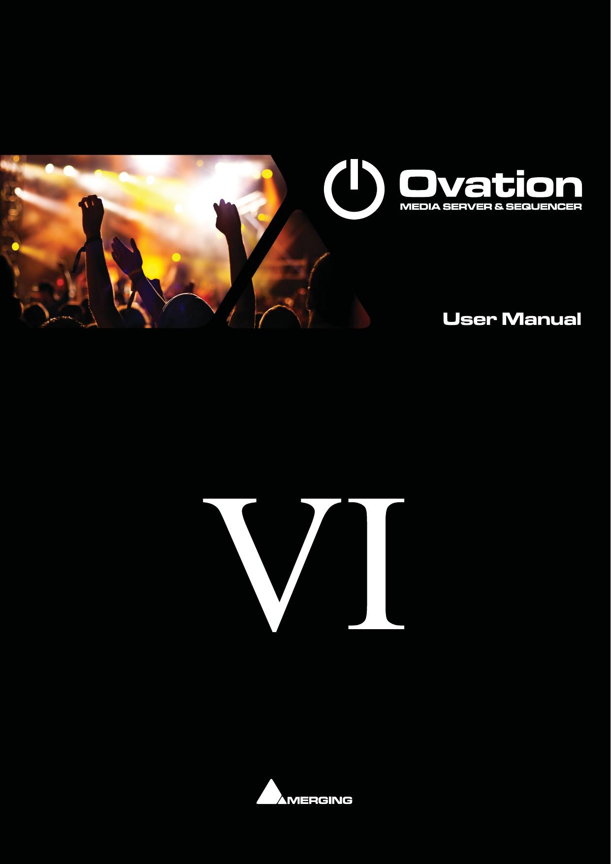 User Manual Merging Technologies Manualzz