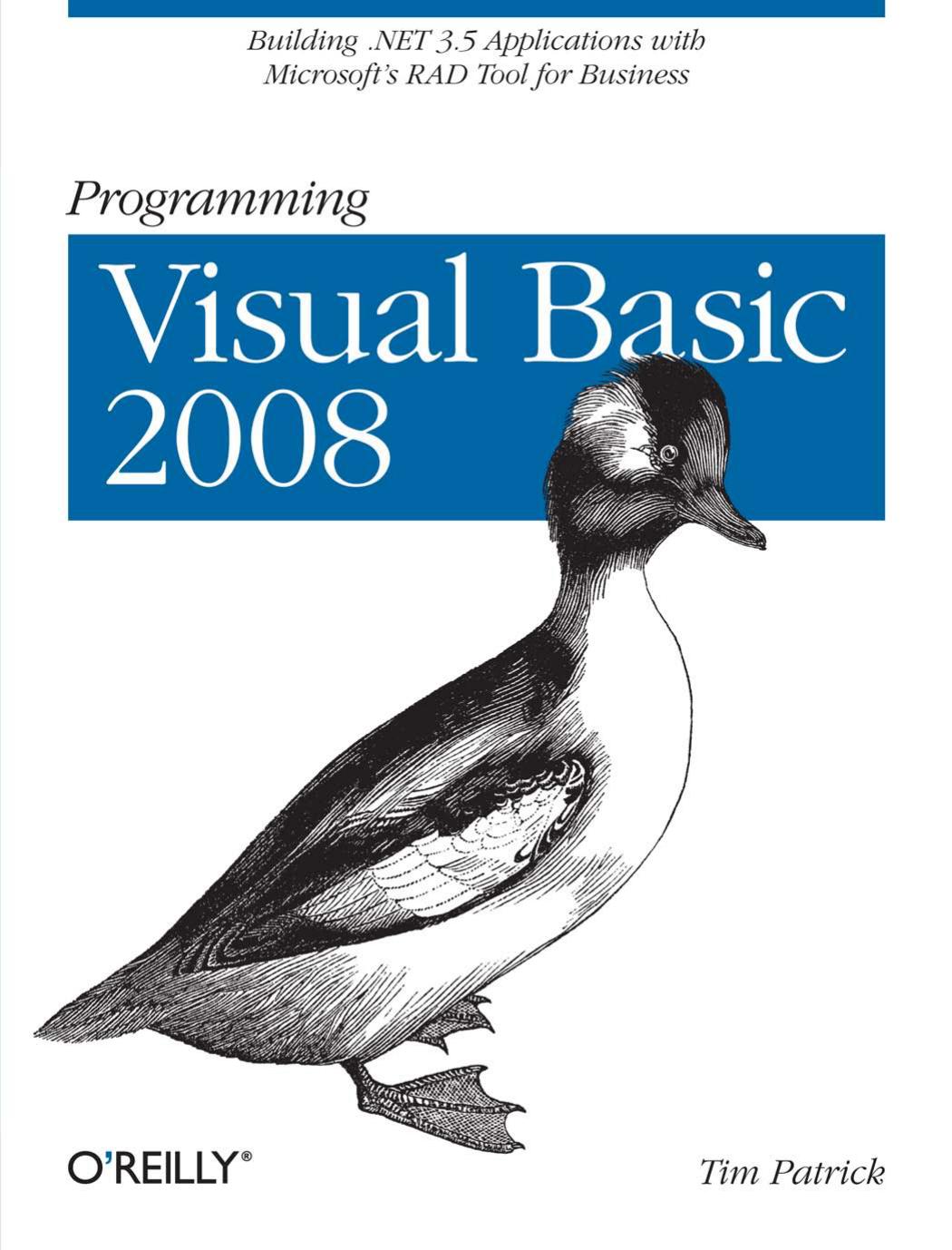 Programming Visual Basic   manualzz com