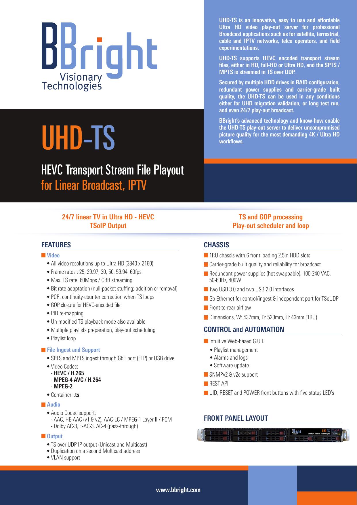 UHD-TS | manualzz com