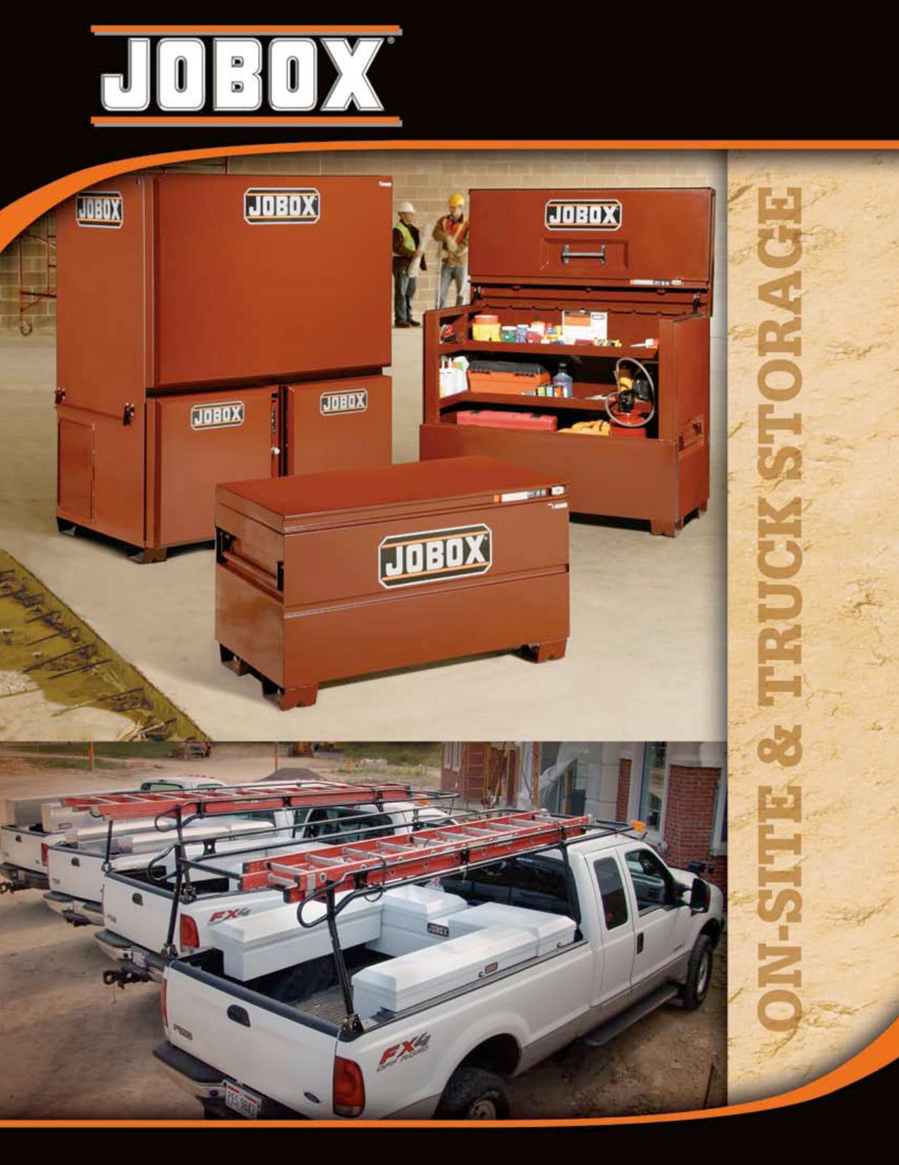 Aluminum JOBOX 1410980 Drawer Storage Unit