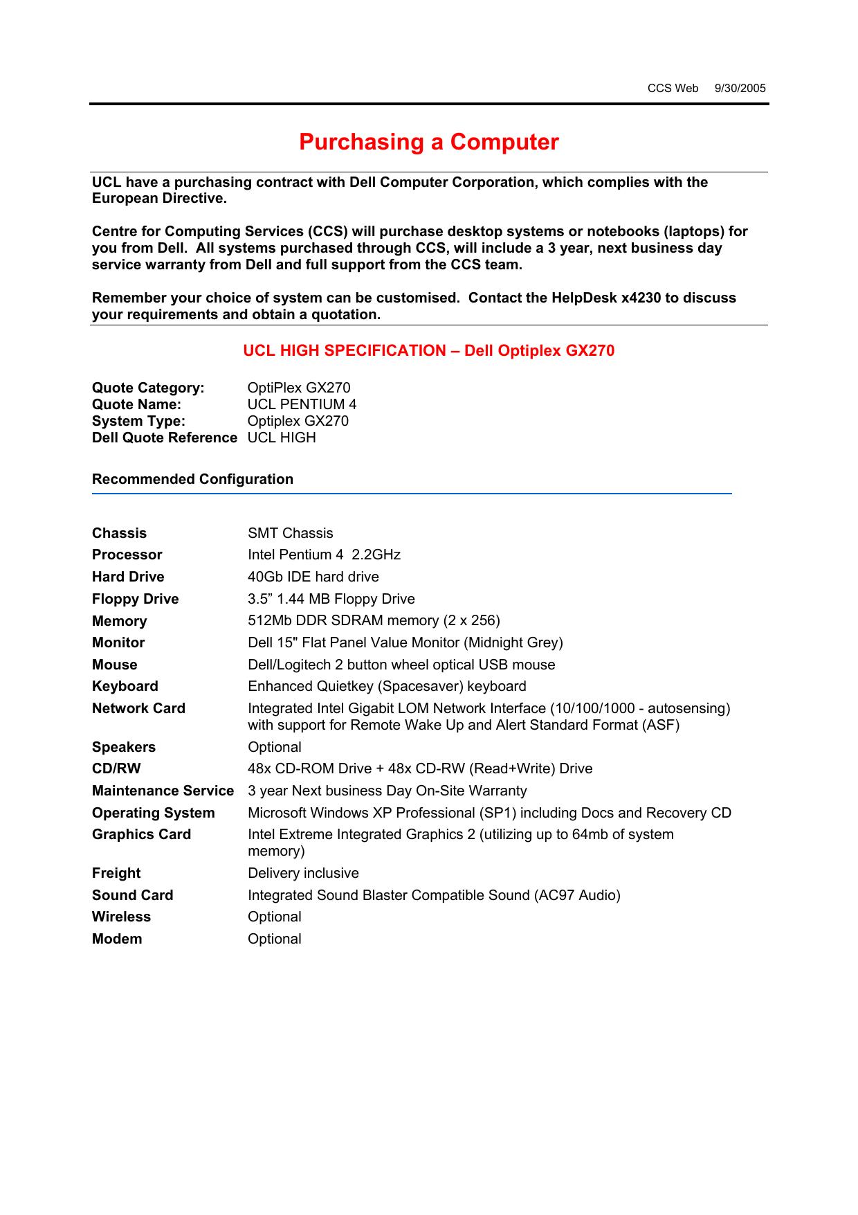 DRIVER UPDATE: GX270 GIGABIT LOM