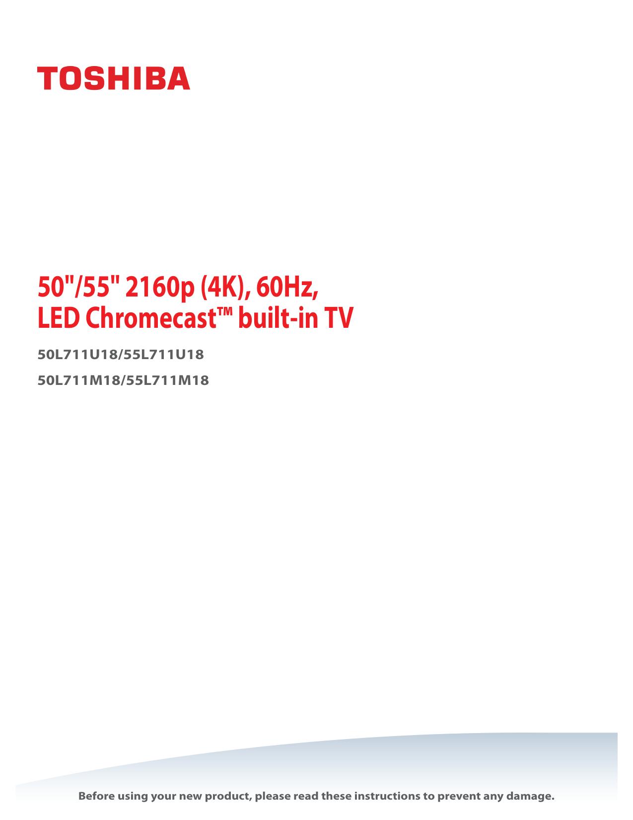 2160p 60hz Led Chromecast Built In Tv Manualzzcom
