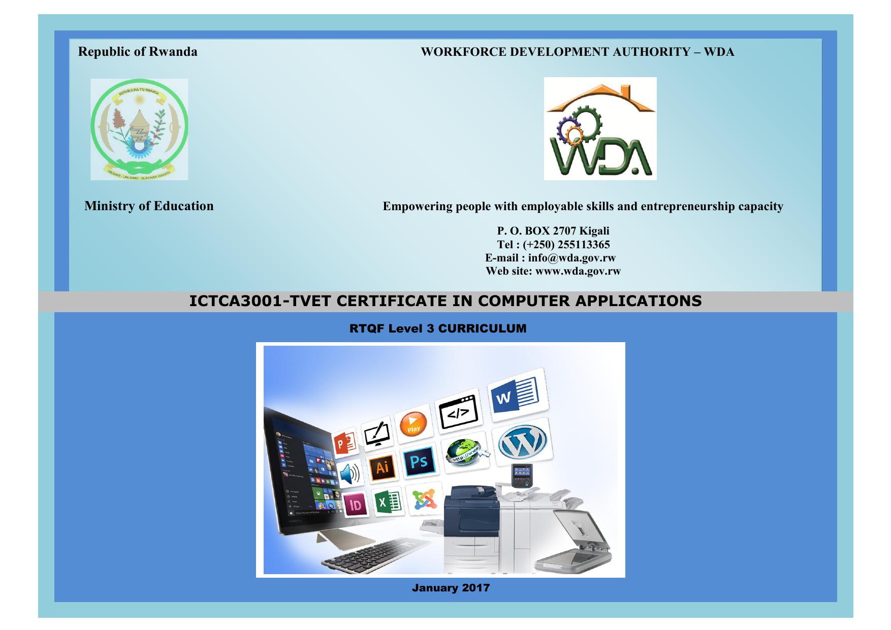 TVET Certificate I in Computer Applications   manualzz.com