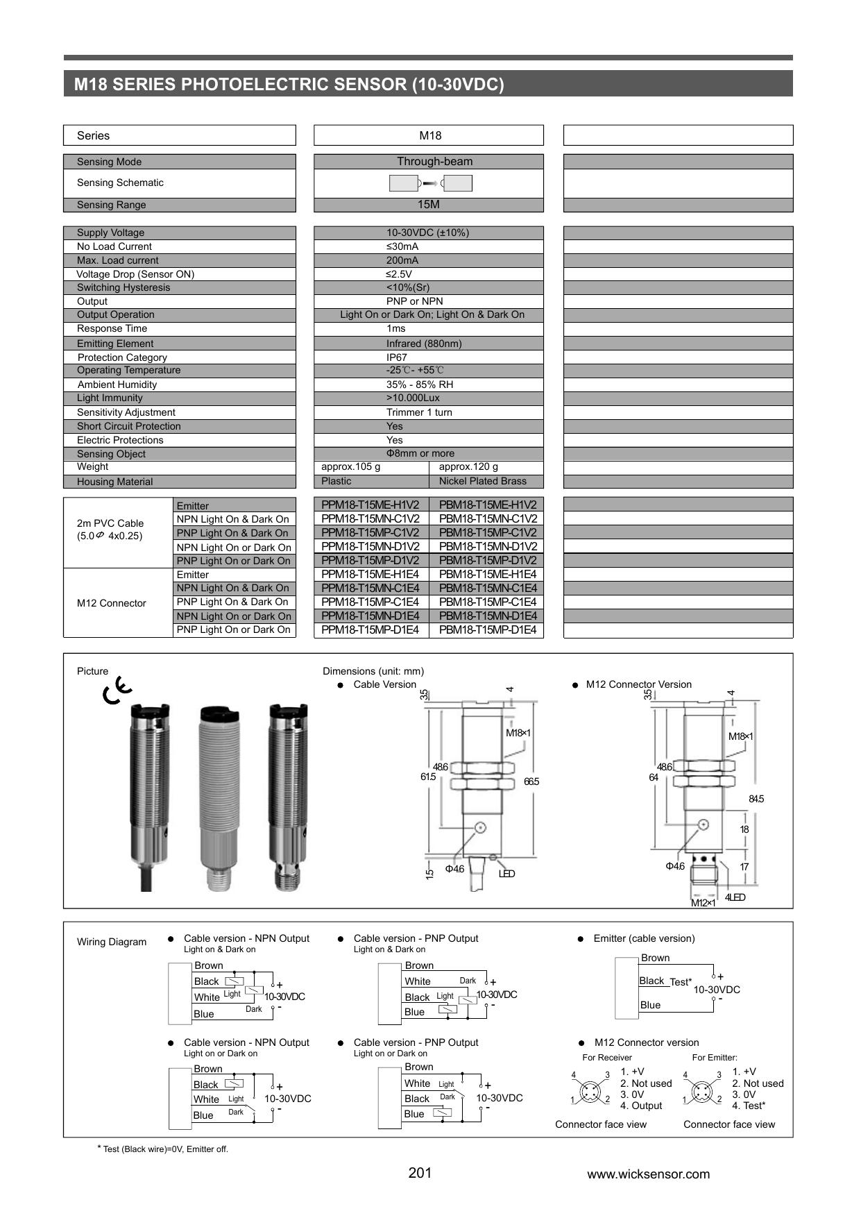 Dorable Pnp And Npn Sensor Sketch - Wiring Standart Installations ...