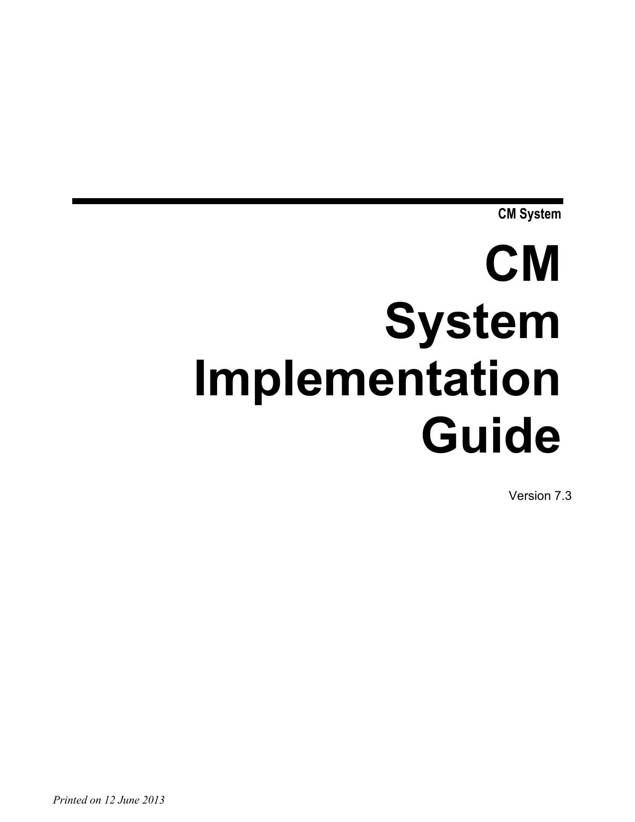 Rhythmyx Implementation Guide   manualzz com