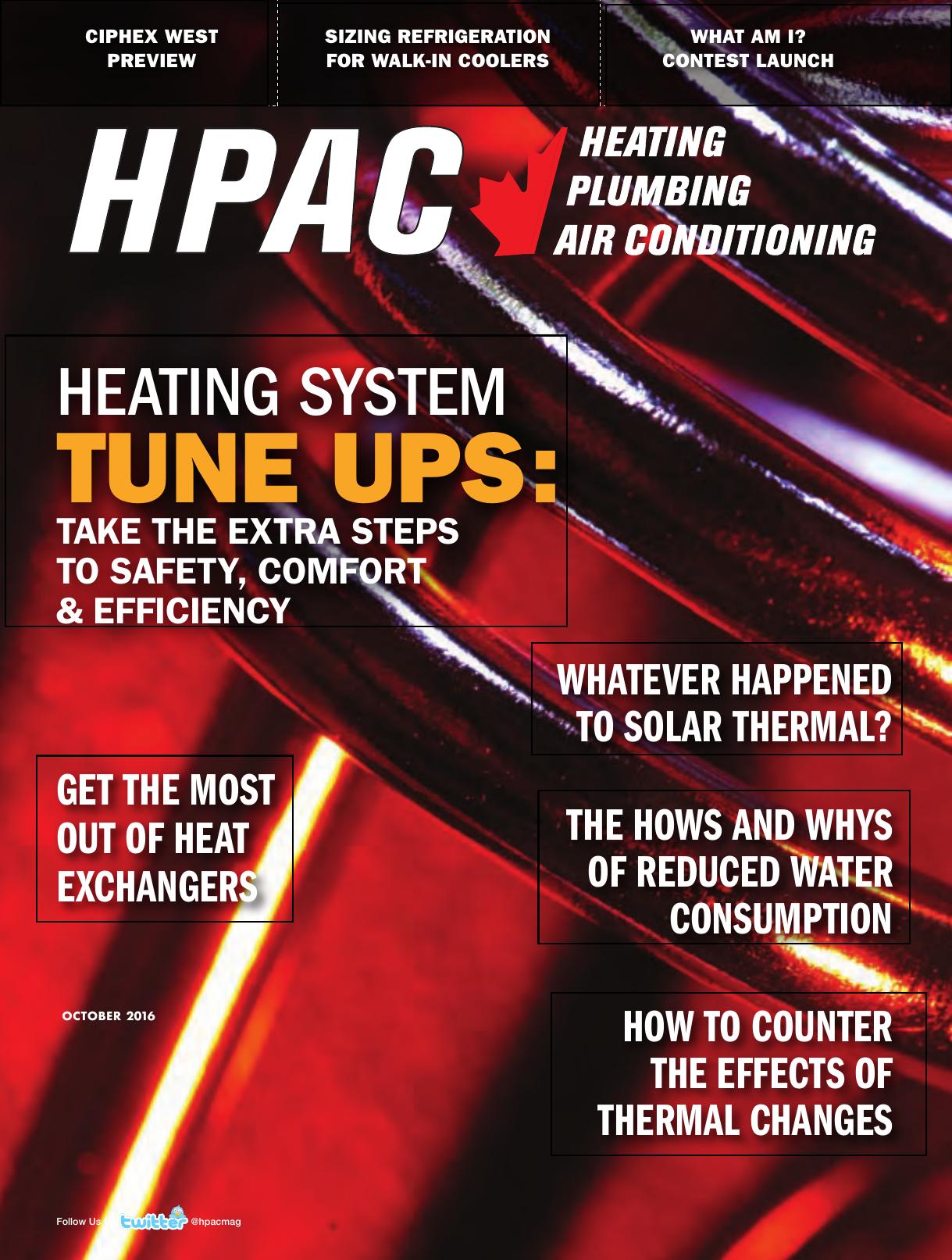 Tune Ups Hpac Magazine Manualzz