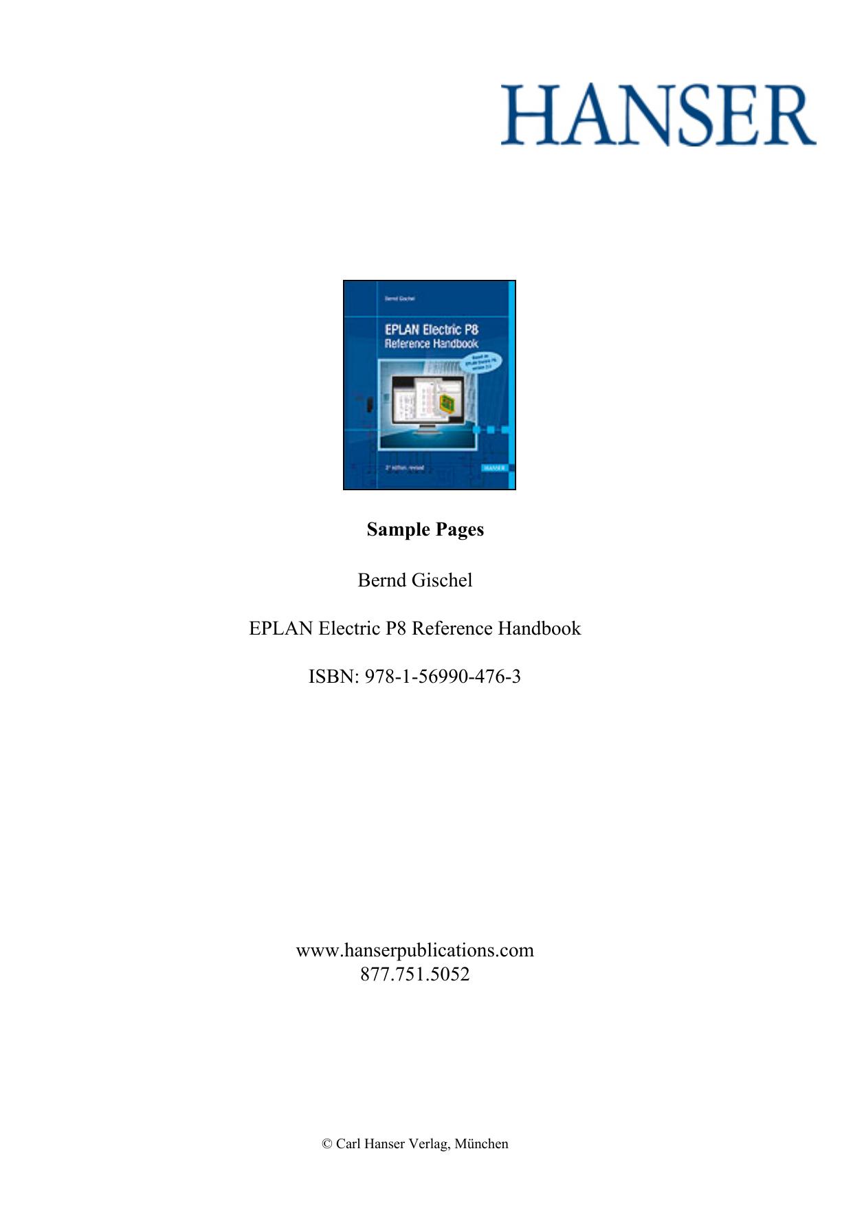 EPLAN Electric P8 Reference Handbook | manualzz com