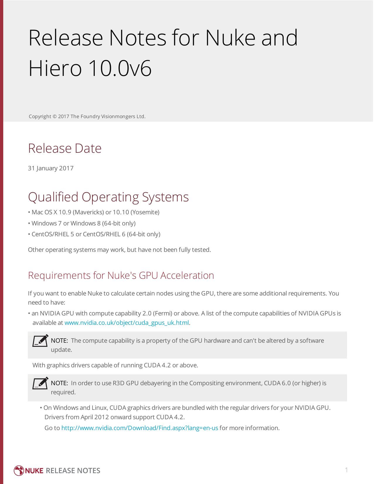 Nuke 10 0v6 Release Notes | manualzz com