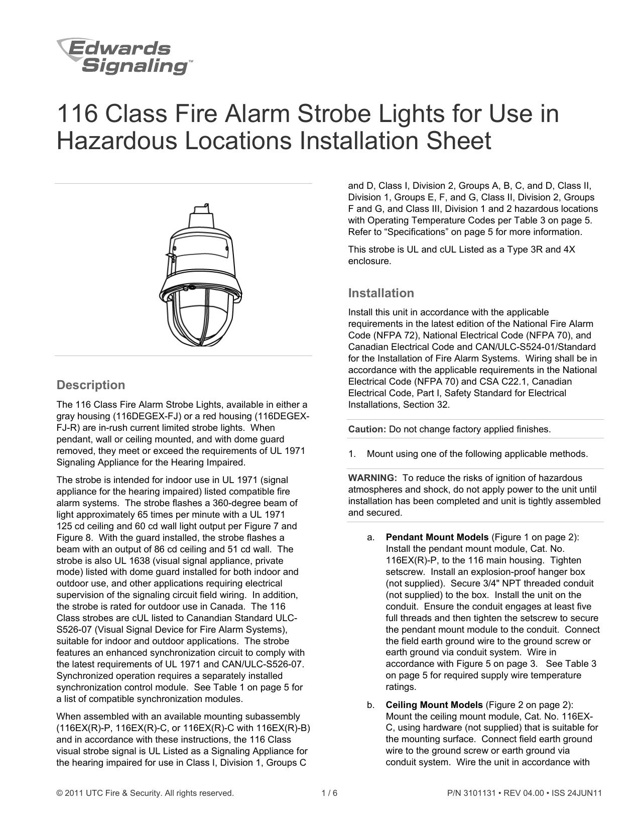 Class A Fire Alarm Wiring