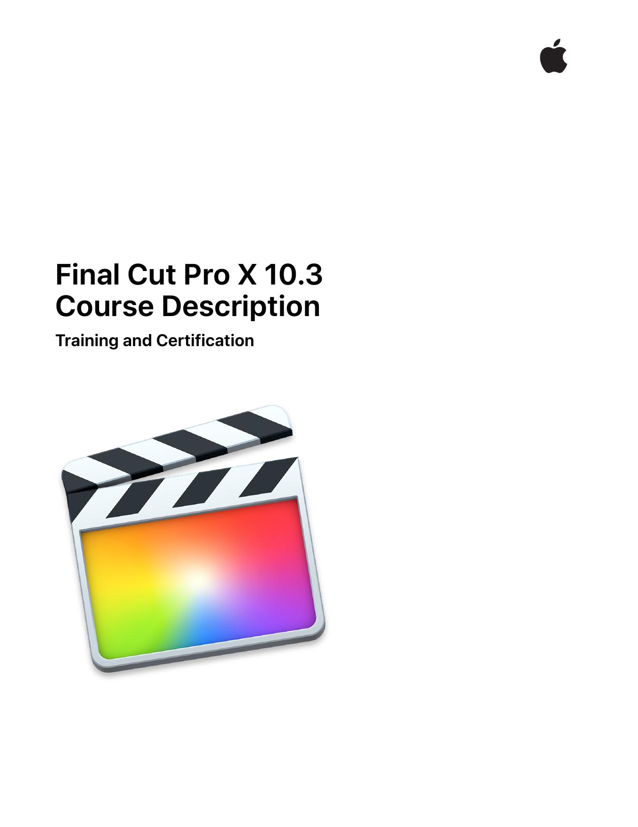 Final Cut Pro X 103