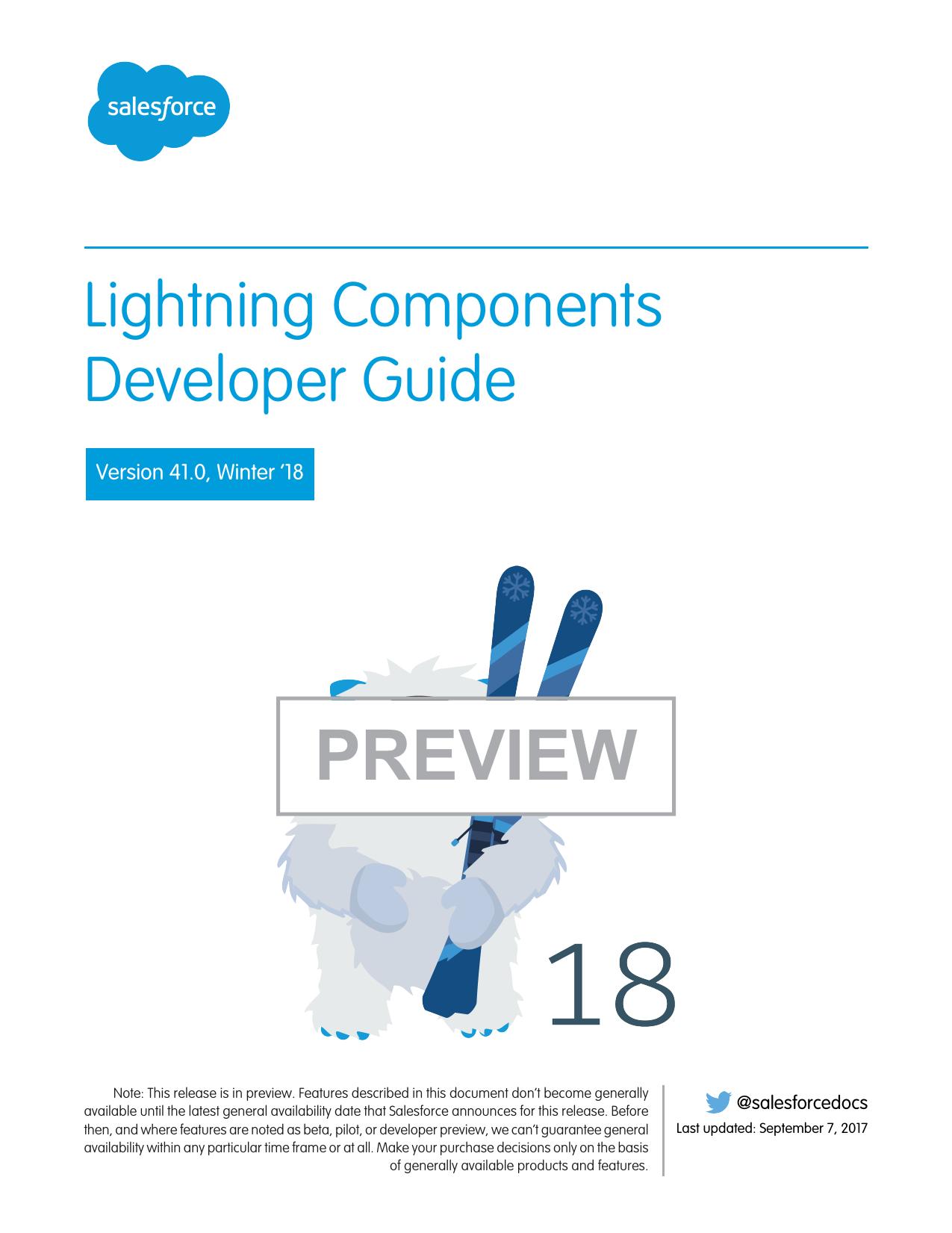 Lightning Components Developer Guide | manualzz com