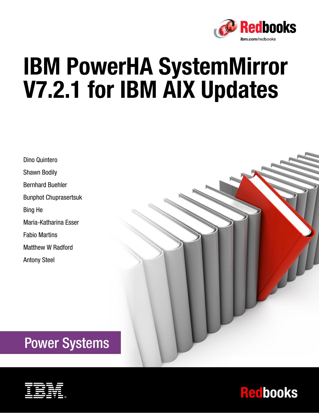 IBM PowerHA SystemMirror V7 2 1 for IBM AIX   manualzz com
