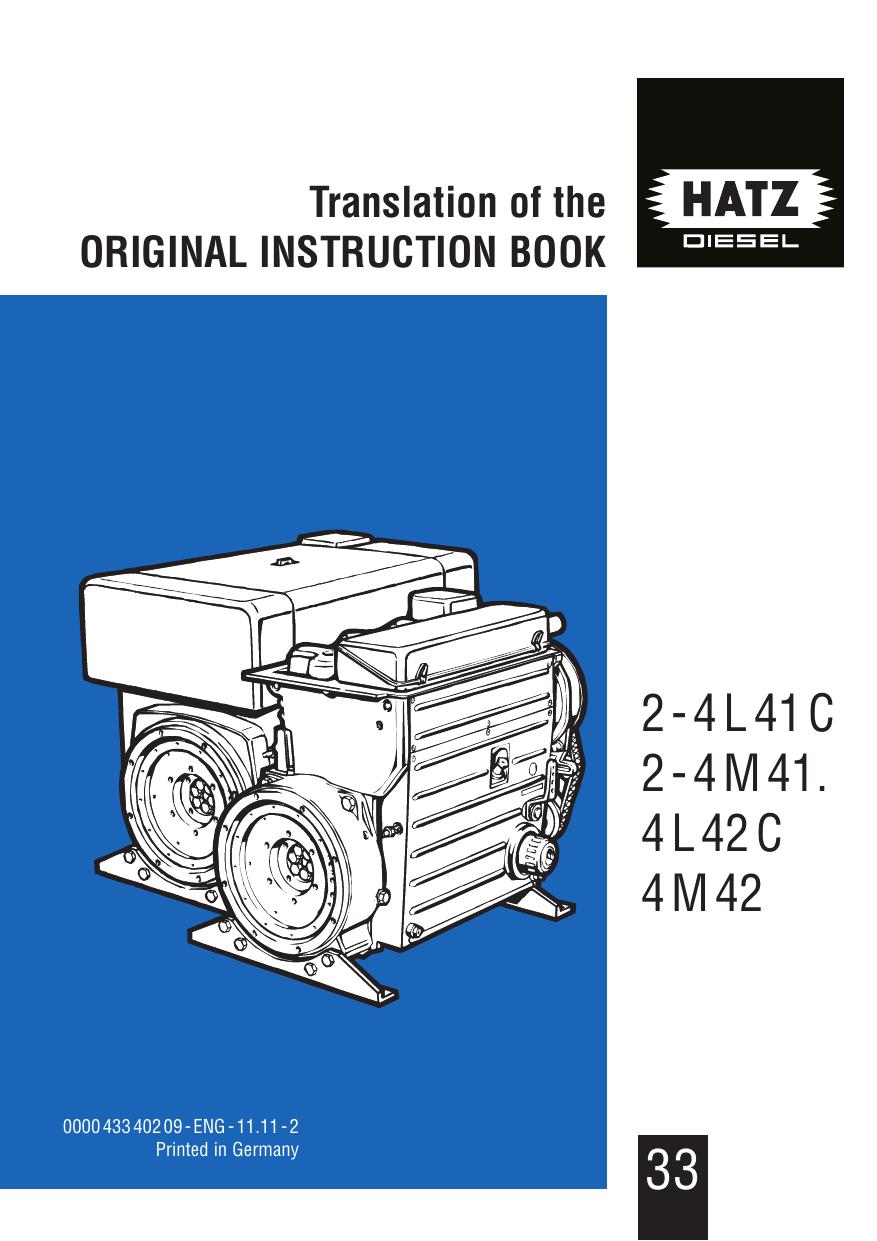 1B20V 1B27 Luft Filter für Hatz 1B20 1B30V 2W35 3W35 4W35 1B30 4W35T