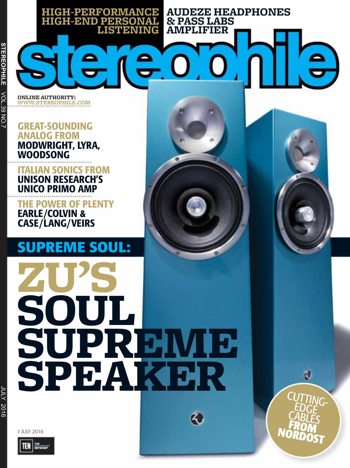 Stereophile - July 2016 - Ebook-dl | manualzz.com