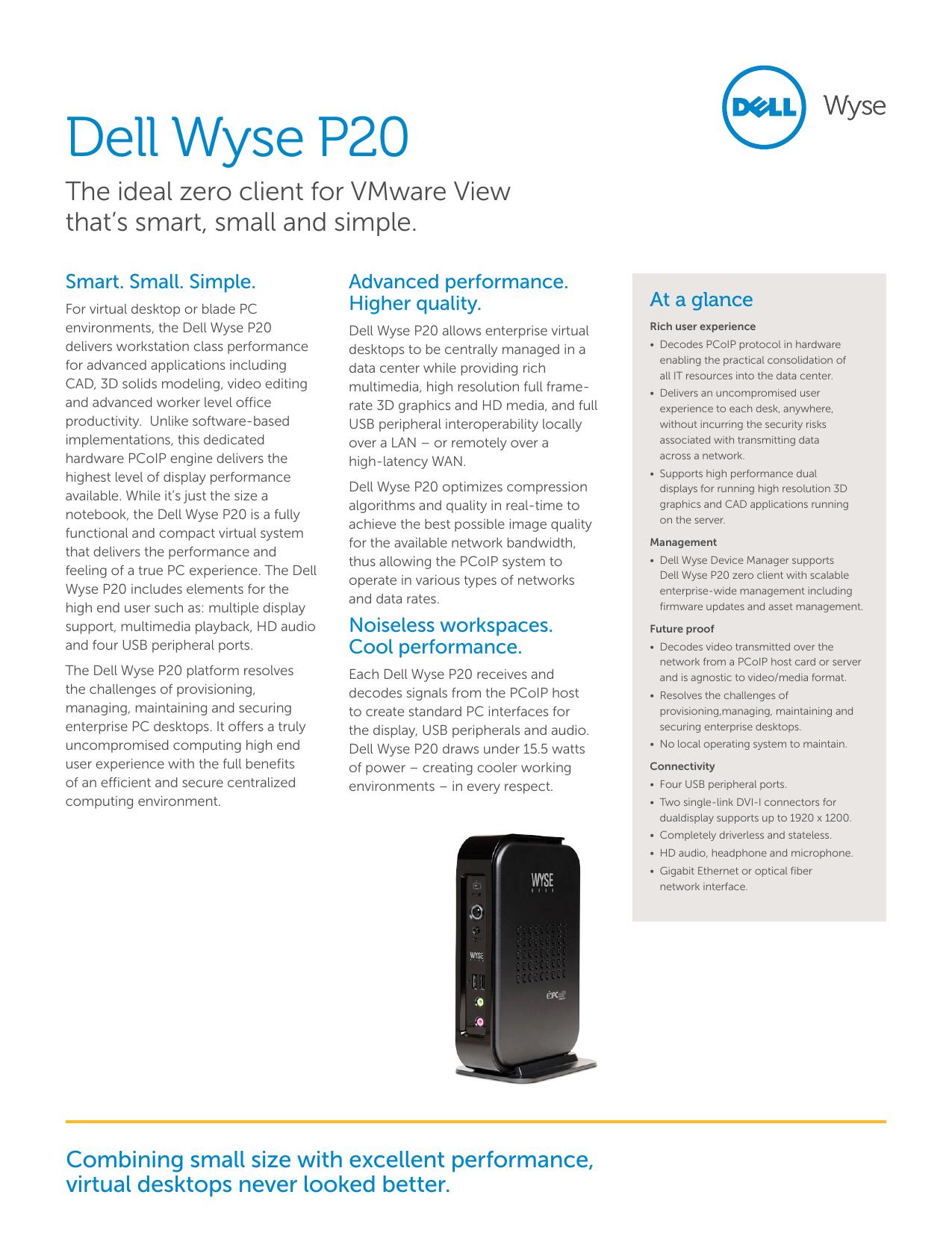 Wyse P20 Manual