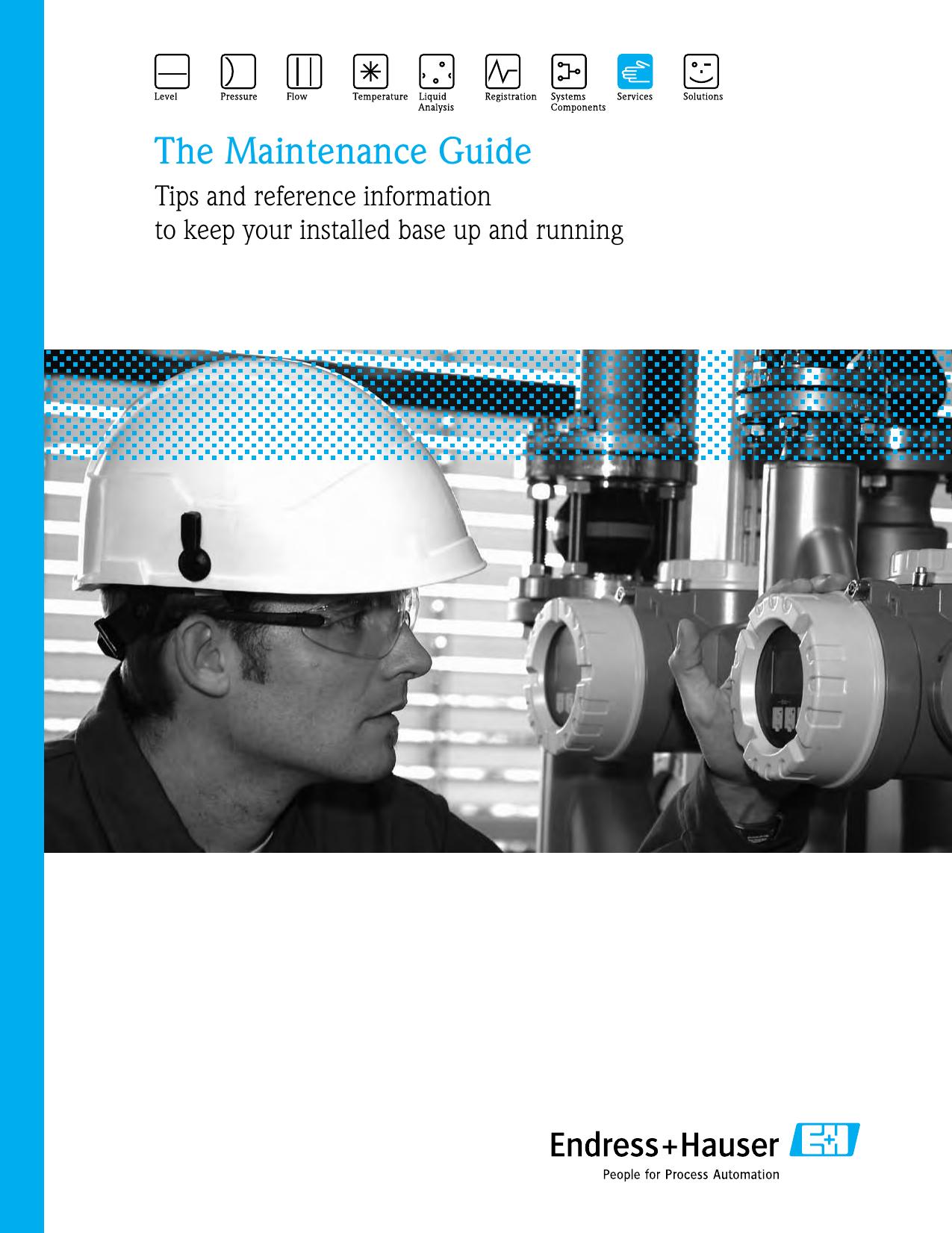 The Maintenance Guide - Endress+Hauser Portal | manualzz com