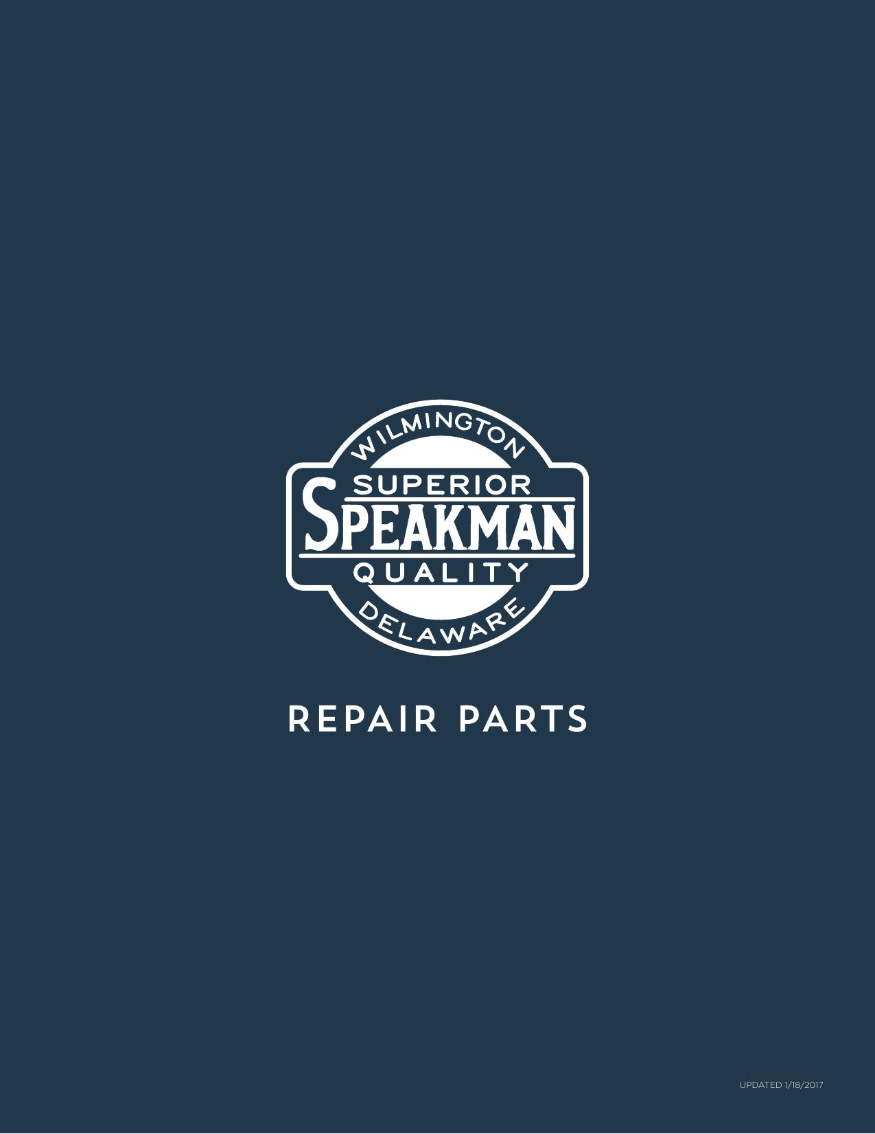 Sb-1211S Speakman RPG45-0048 Mounting Hardware for Caspian Single Lever Faucet