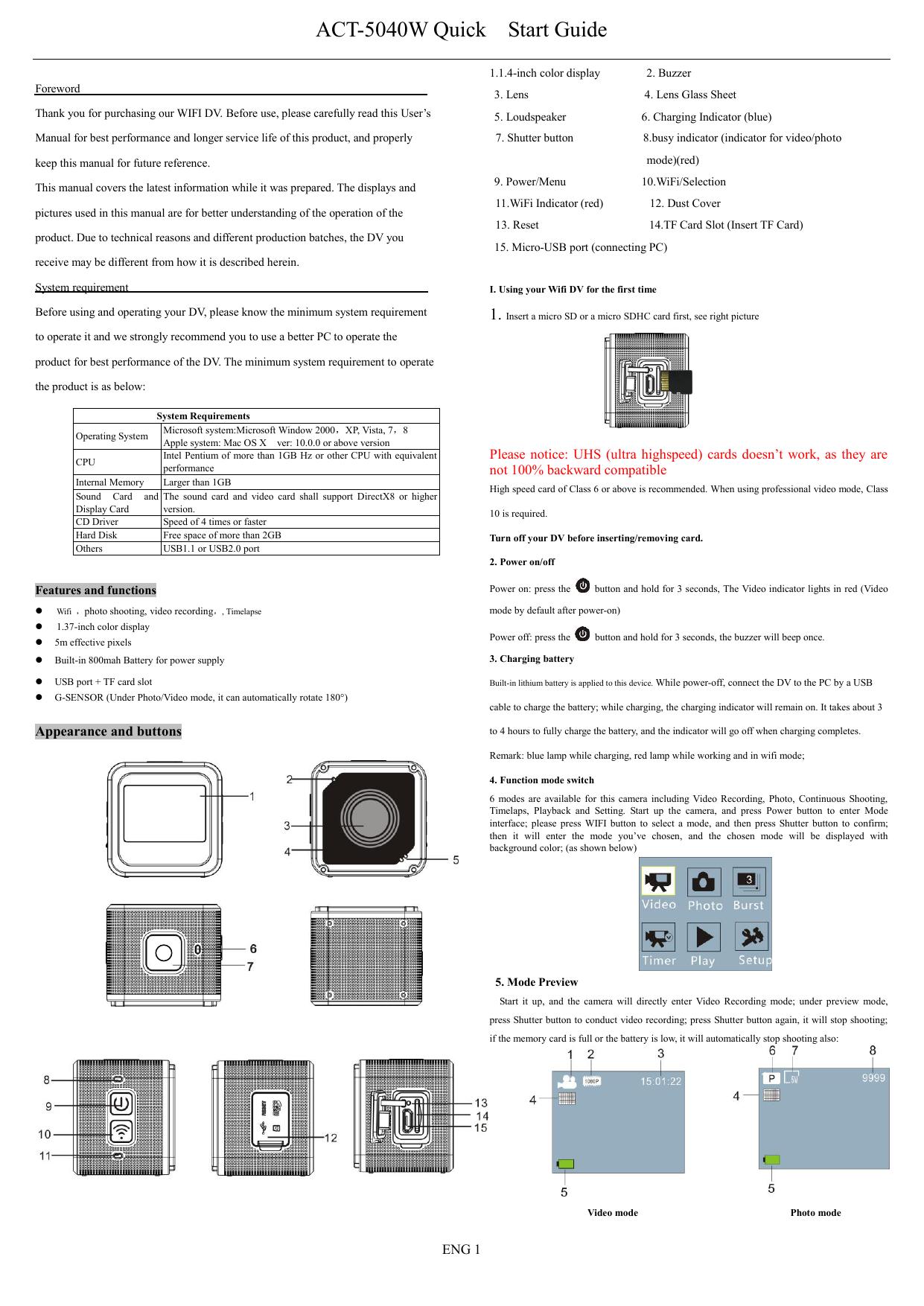 DENVER_ACT-5040W_ | manualzz com