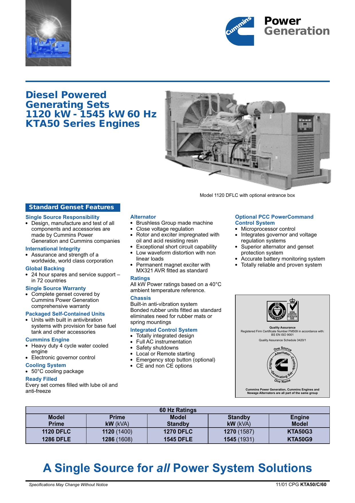 11559 Data Sheet KTA50 (60 Hz)   manualzz com