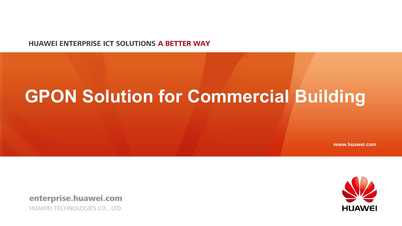 PowerPoint 演示文稿 - Huawei Enterprise | manualzz com