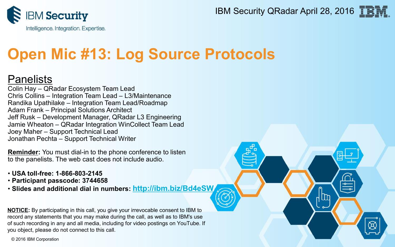 Open Mic #13: Log Source Protocols   manualzz com