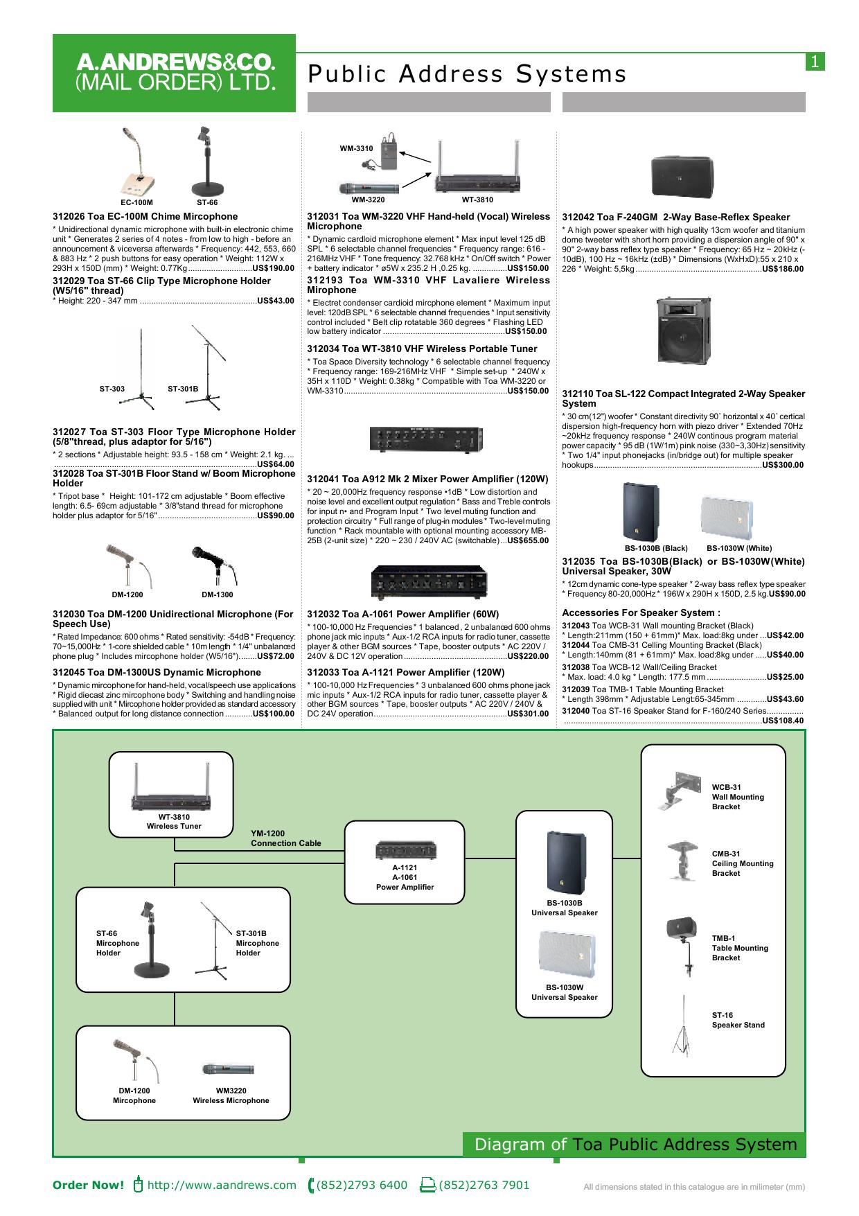 Public Address Systems | manualzz com