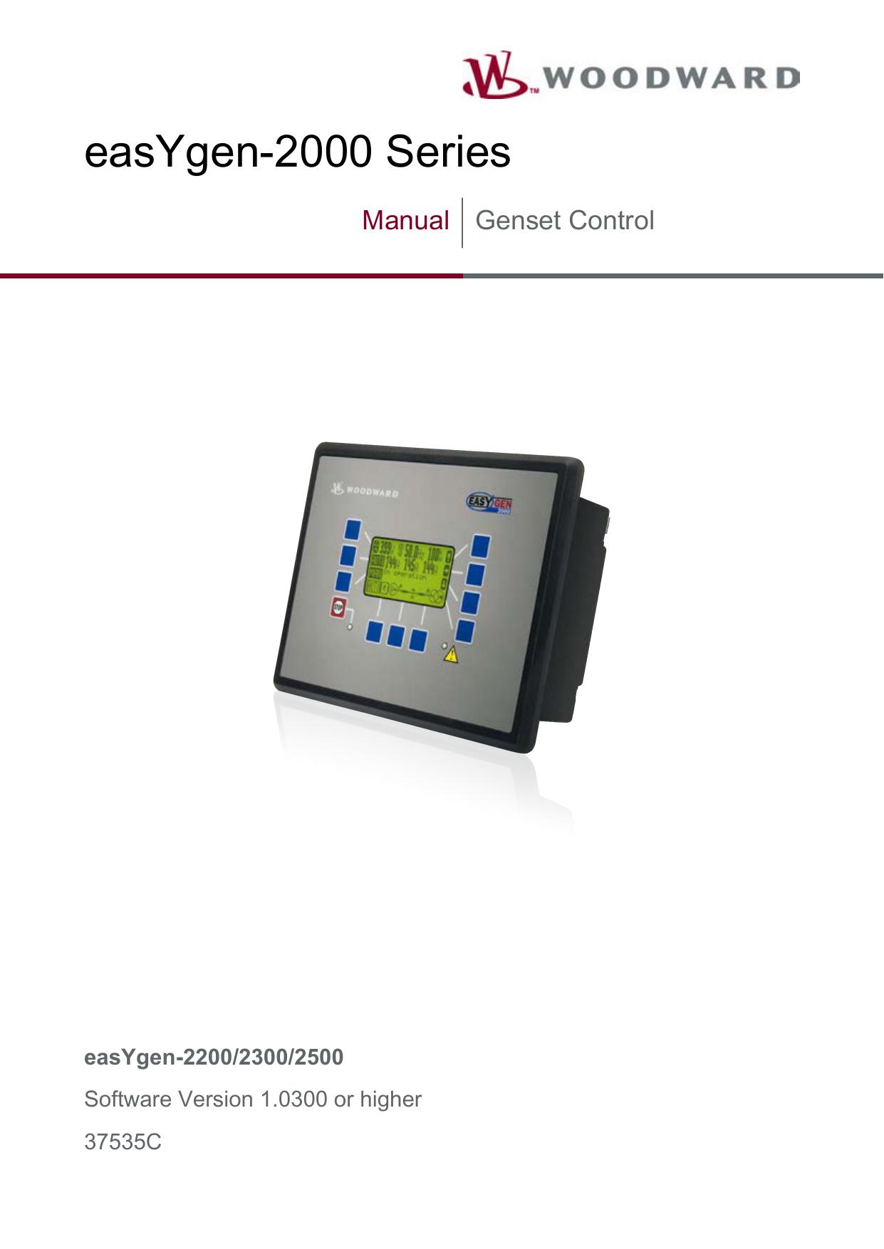 Manual easYgen-2200/2300/2500, 2, en_US | manualzz com