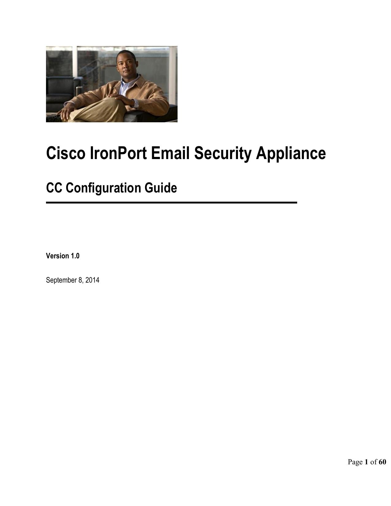 Cisco IronPort Email Security Appliance | manualzz com